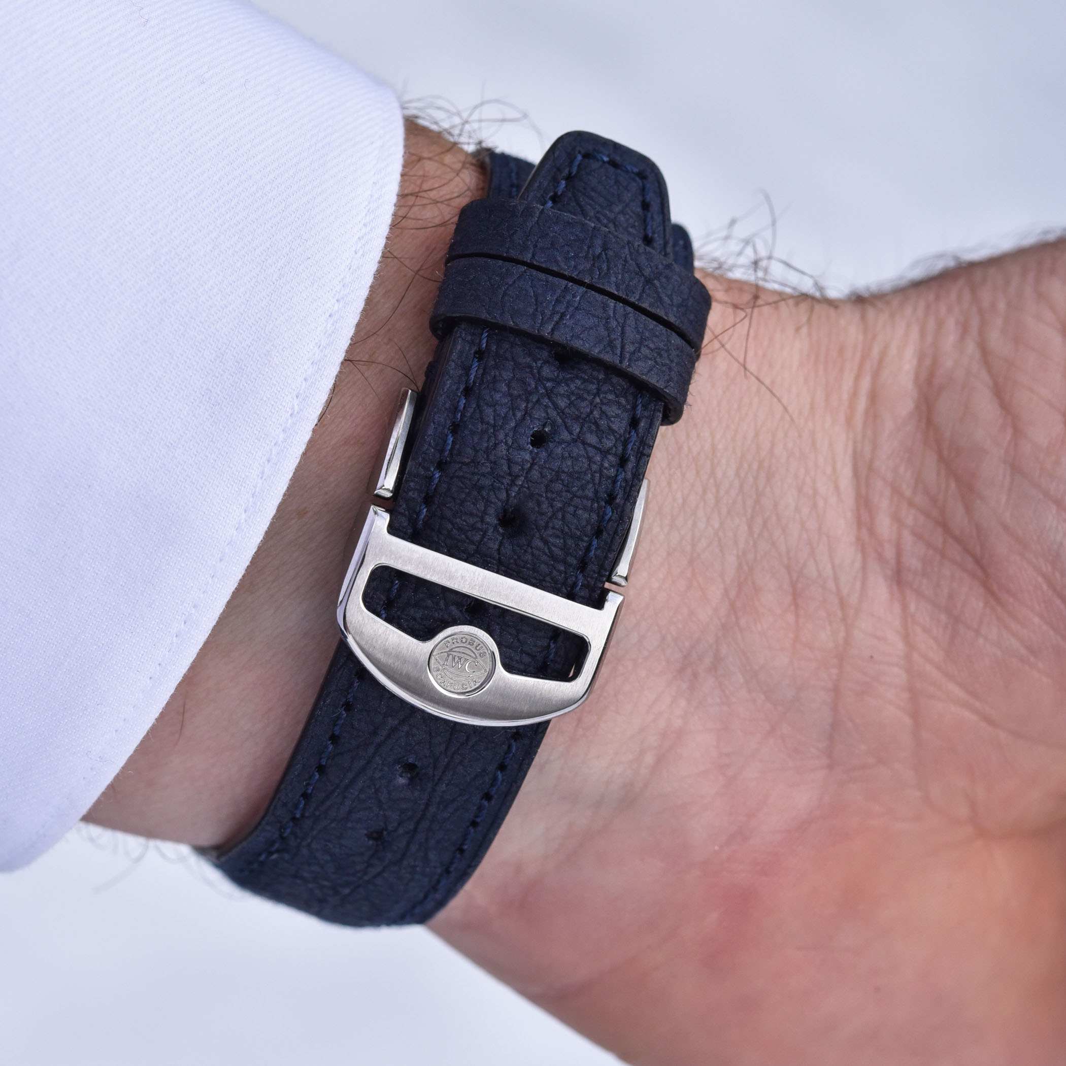 IWC TimberTex straps low- impact paper-based material