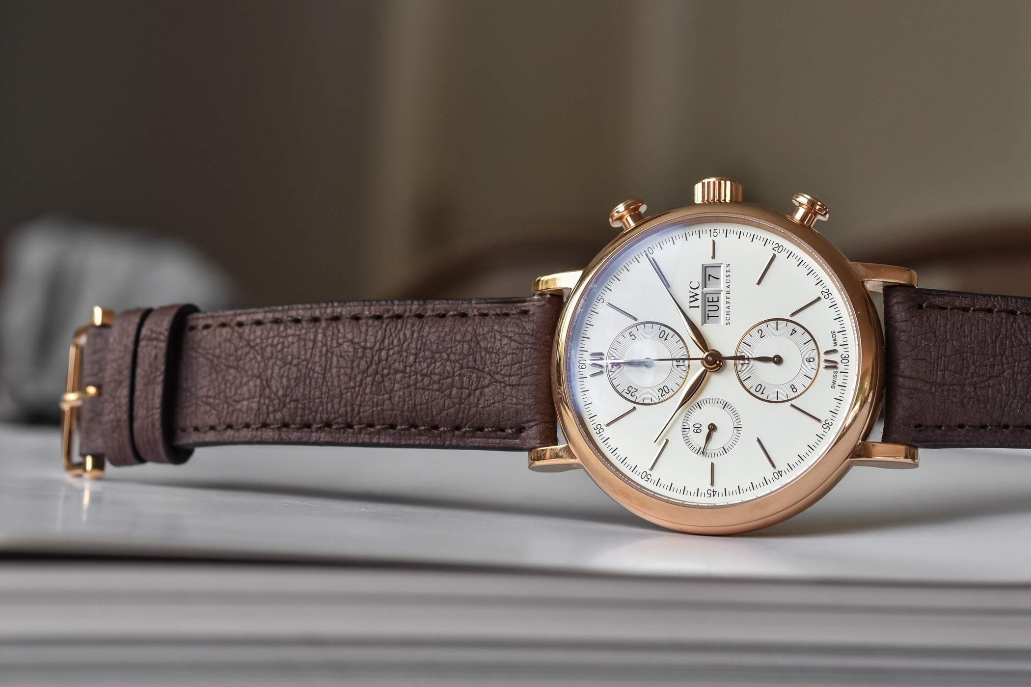 News - IWC Launches Low-Impact TimberTex Paper-Based Straps