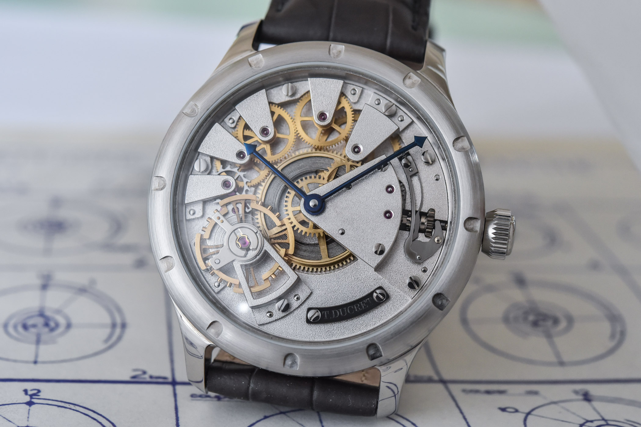 Independent watchmaking - Thierry Ducret first watch