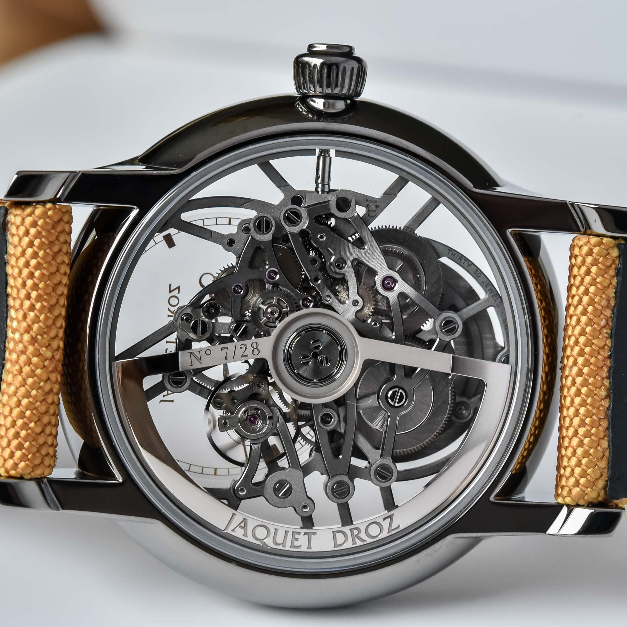 Jaquet Droz Grande Seconde Skelet-One Limited Editions 2021 Colours