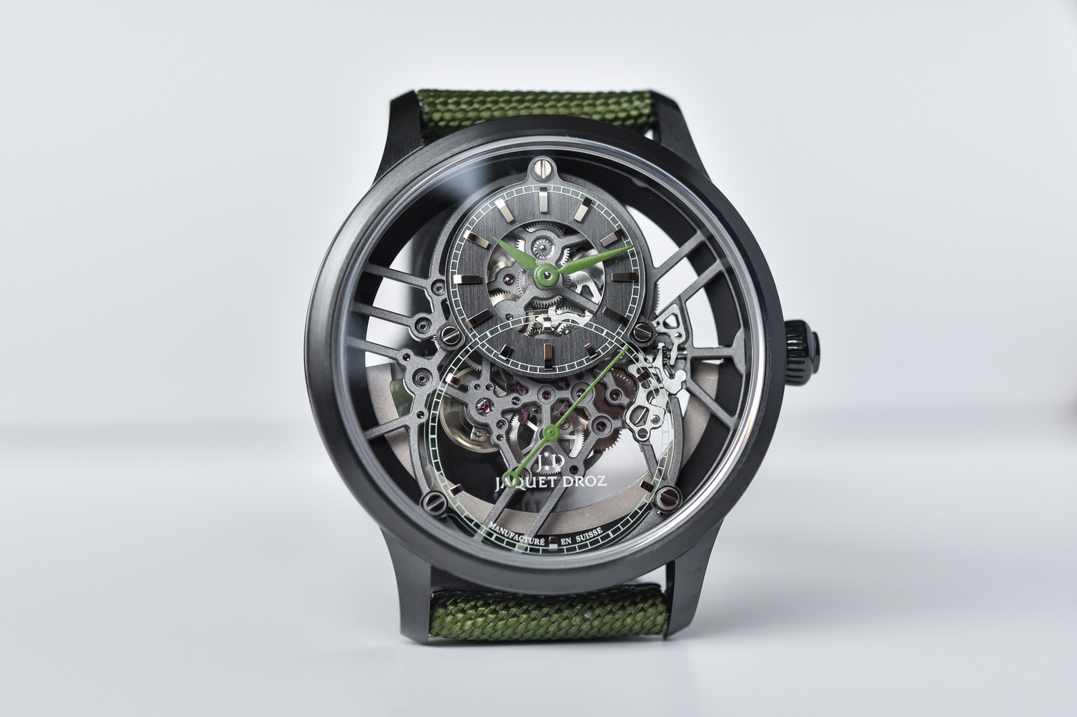 Jaquet Droz Grande Seconde Skleto-One Limited Editions 2021 Colours