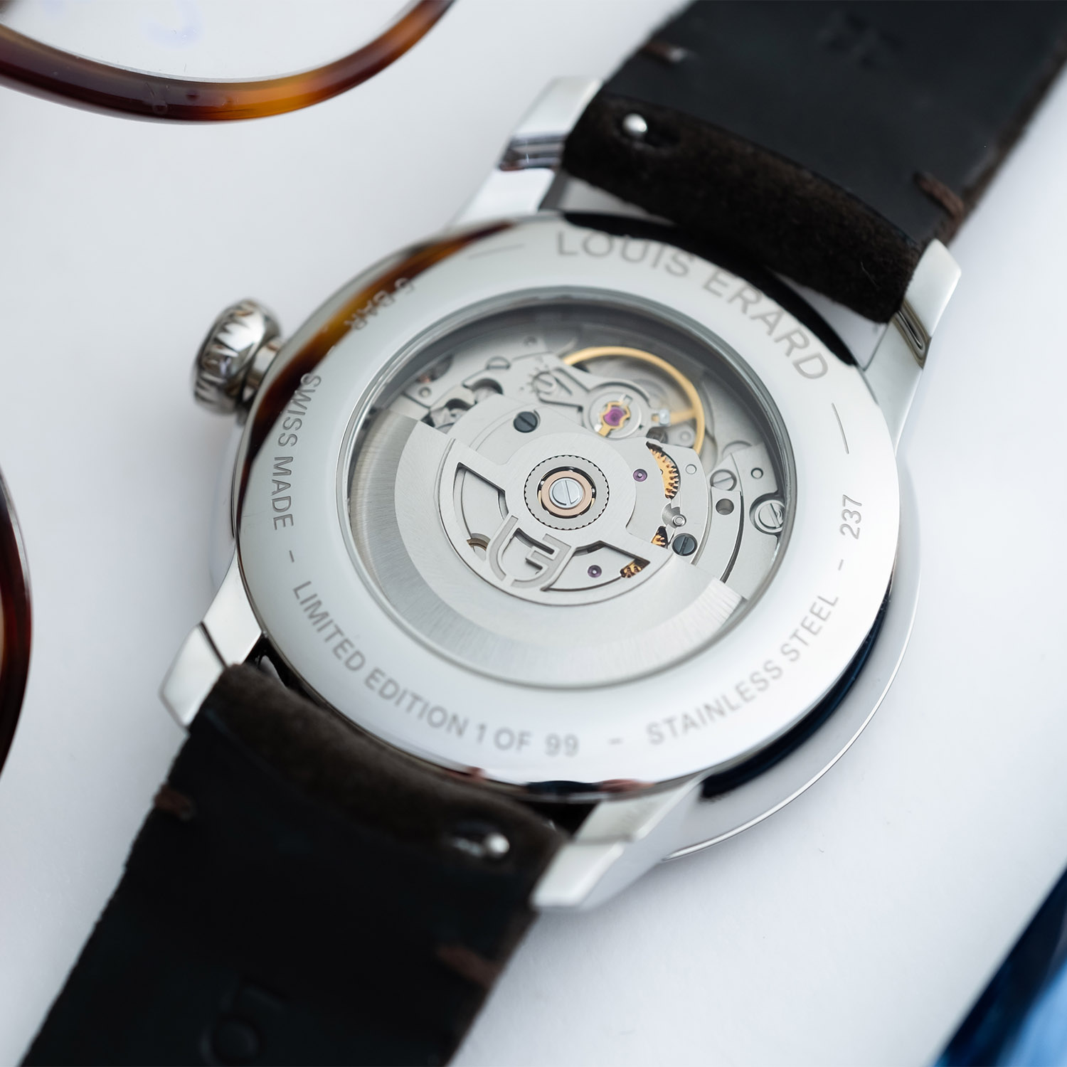 Louis Erard Excellence Email Grand Feu Small Seconds - 1