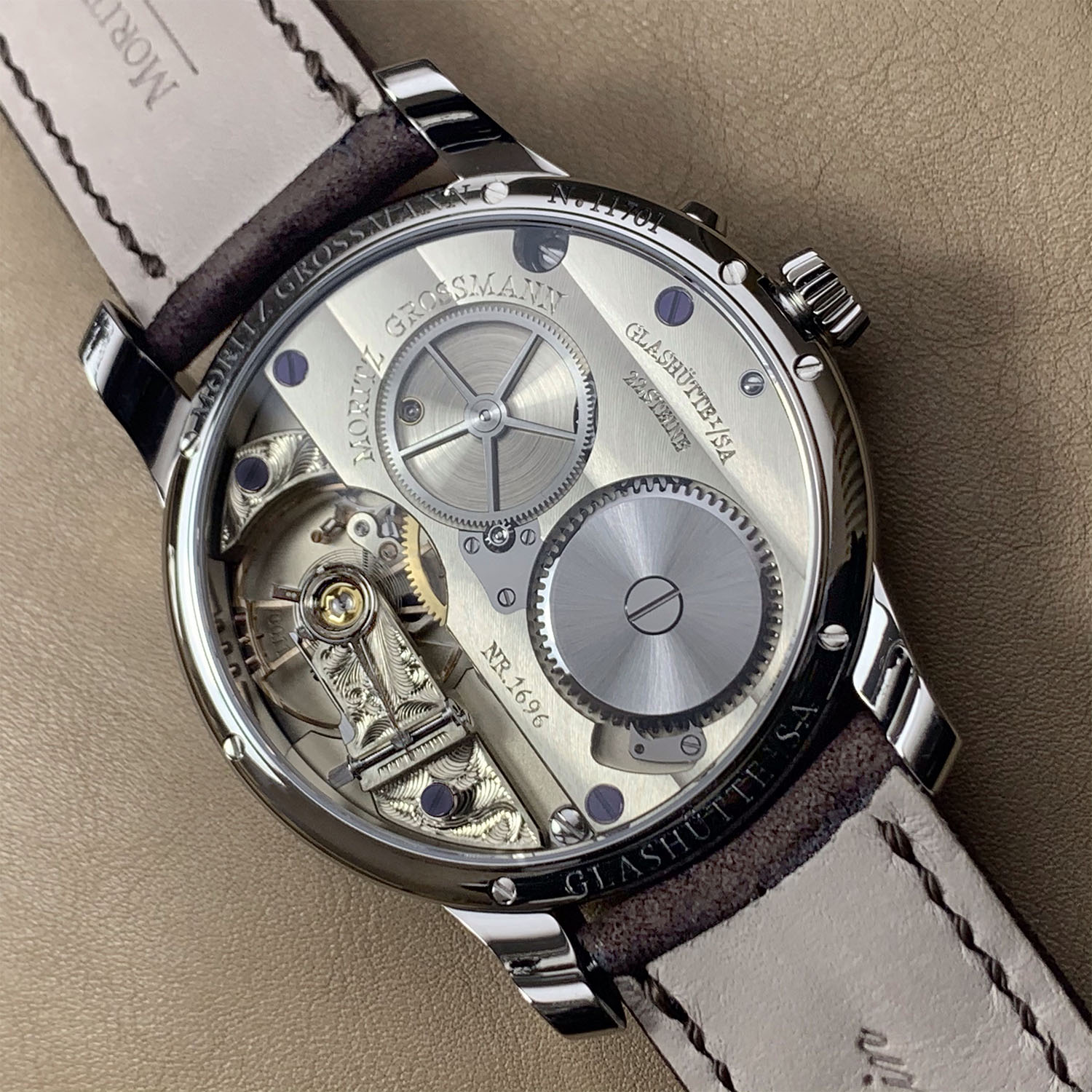 Moritz Grossmann Central Seconds