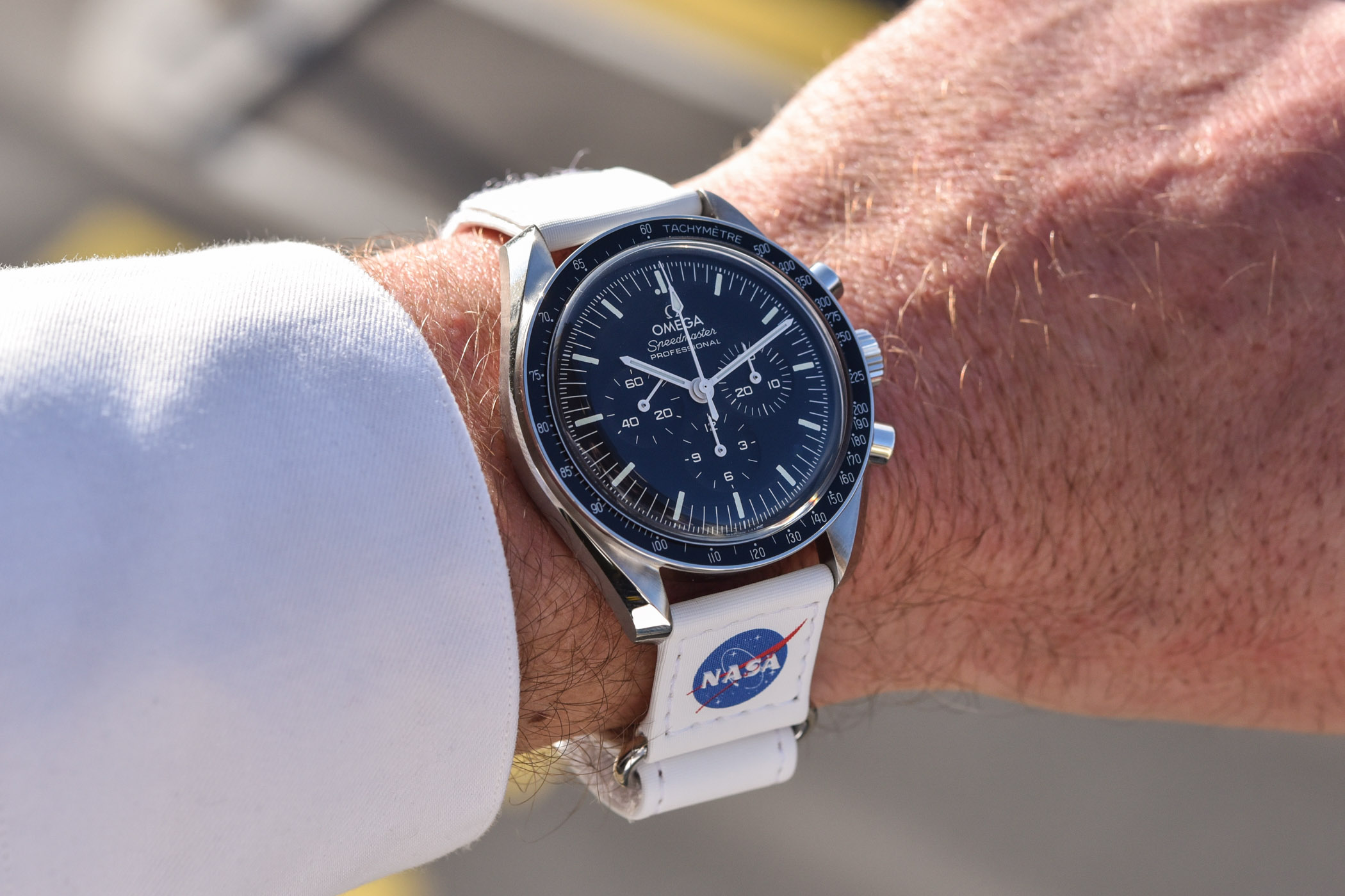 New NASA Velcro Straps for the Omega Speedmaster Moonwatch