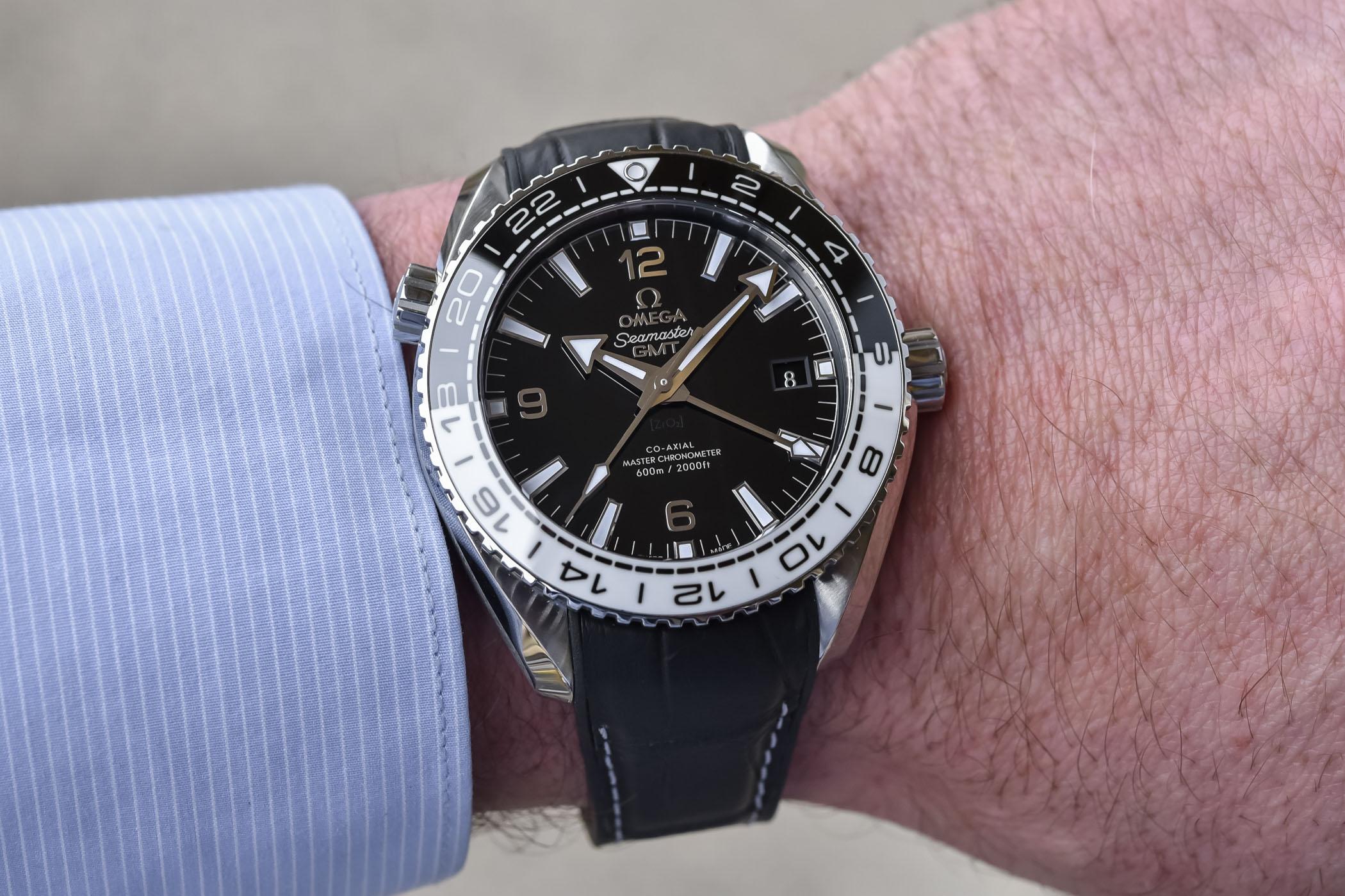 Omega Seamaster Planet Ocean 600m GMT Master Chronometer
