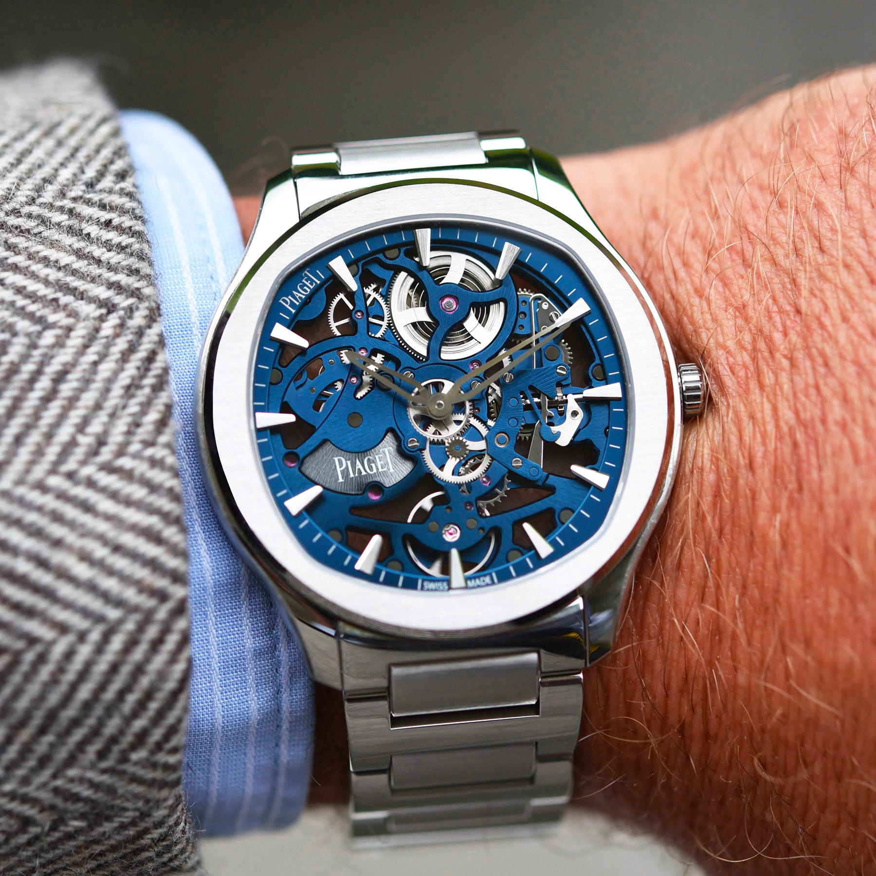 Piaget Polo Skeleton in-depth review video - 1
