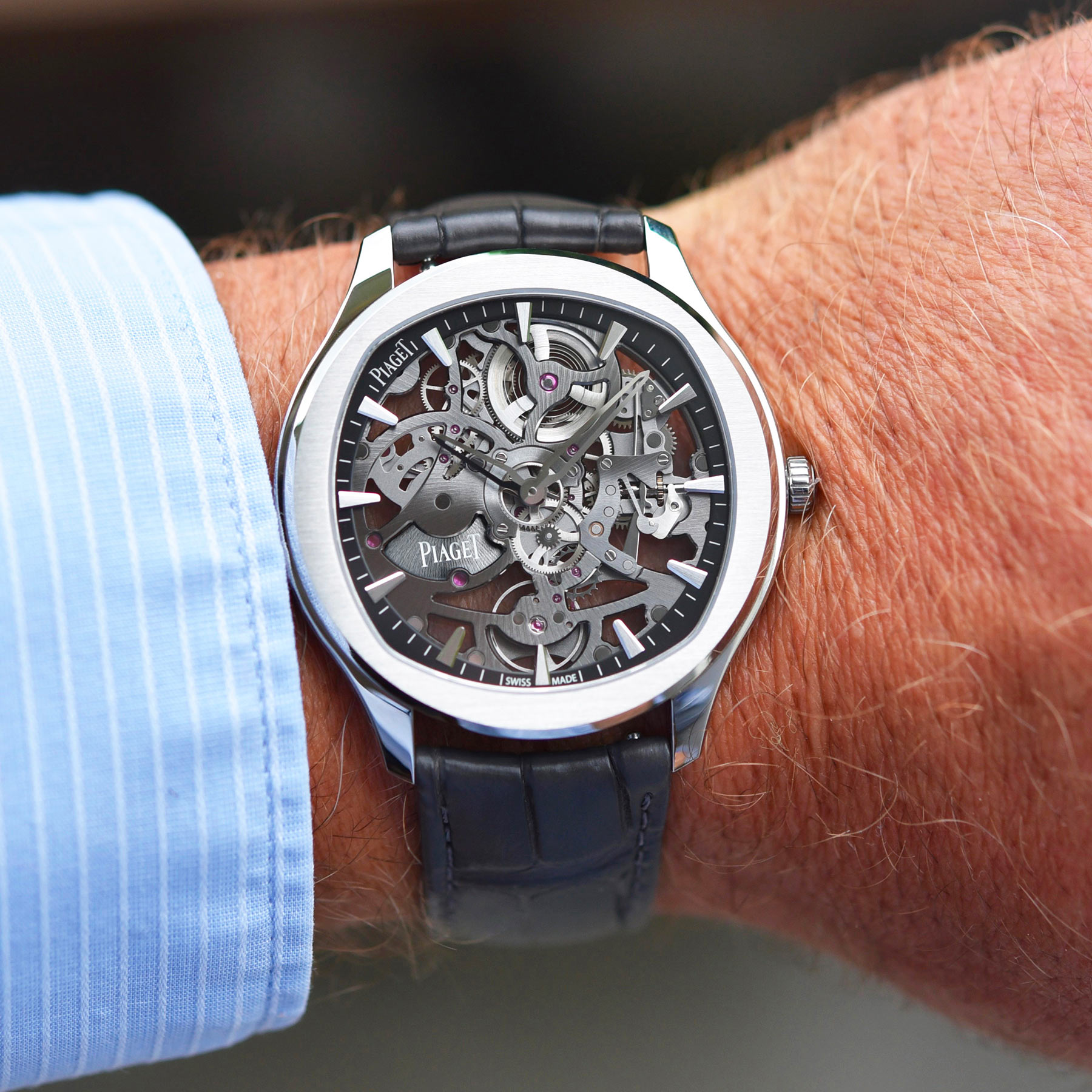Piaget Polo Skeleton in-depth review video - 2