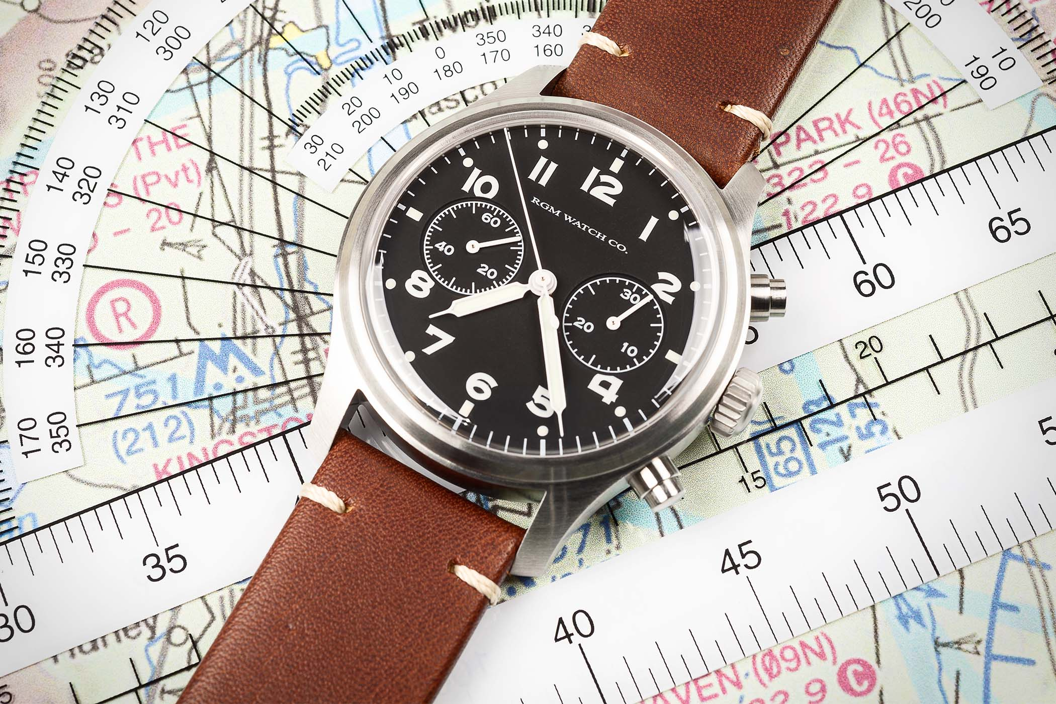RGM Model 600 Chronograph Pilot - american watchmaking
