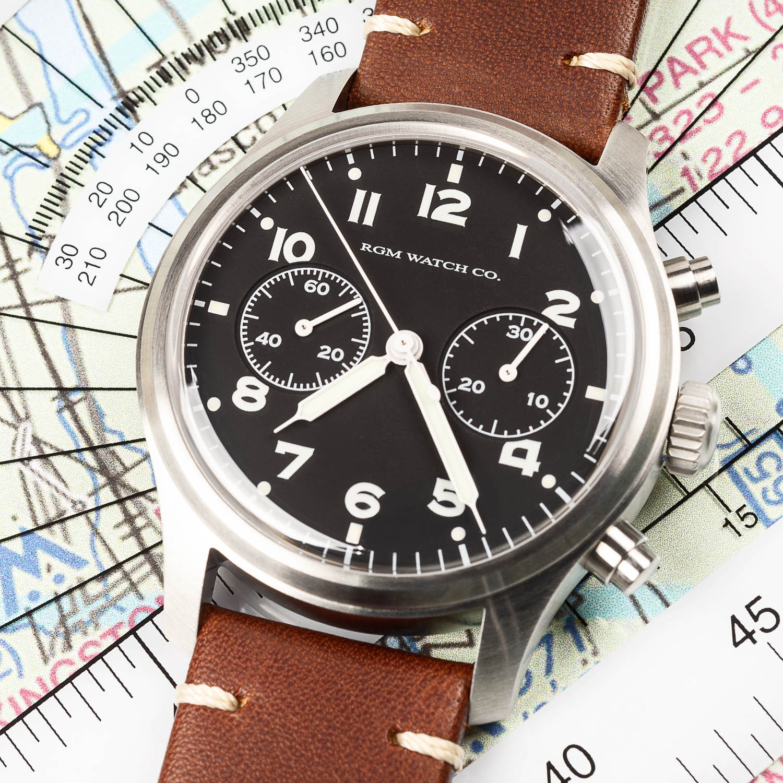 RGM Model 600 Chronograph Pilot - american watchmaking