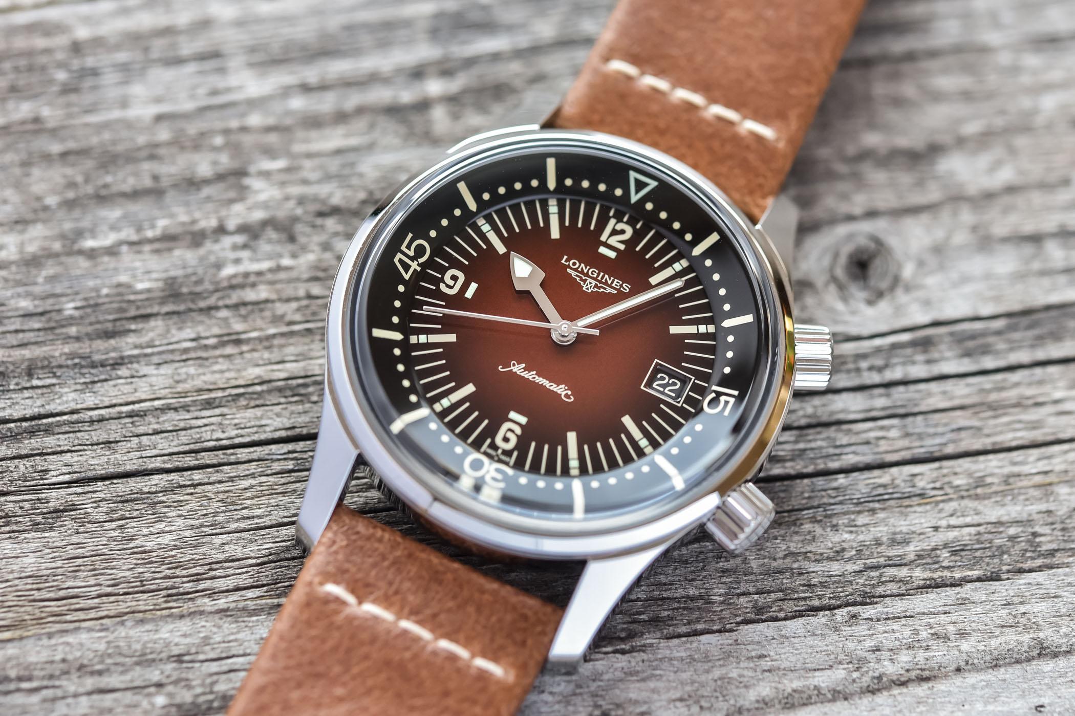 2021 Longines Legend Diver Gradient Brown L3.774.4.60.2 review 2