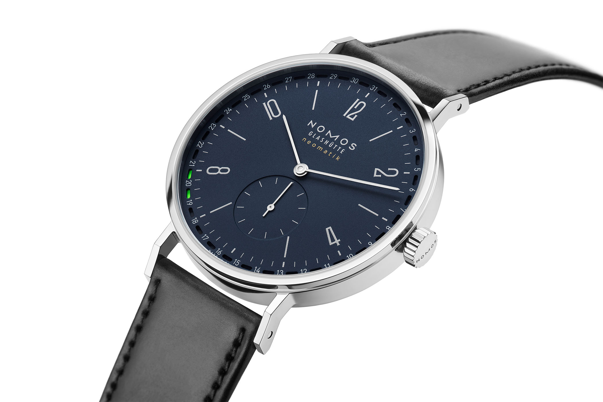 Nomos Tangente neomatik 41 Update Midnight Blue
