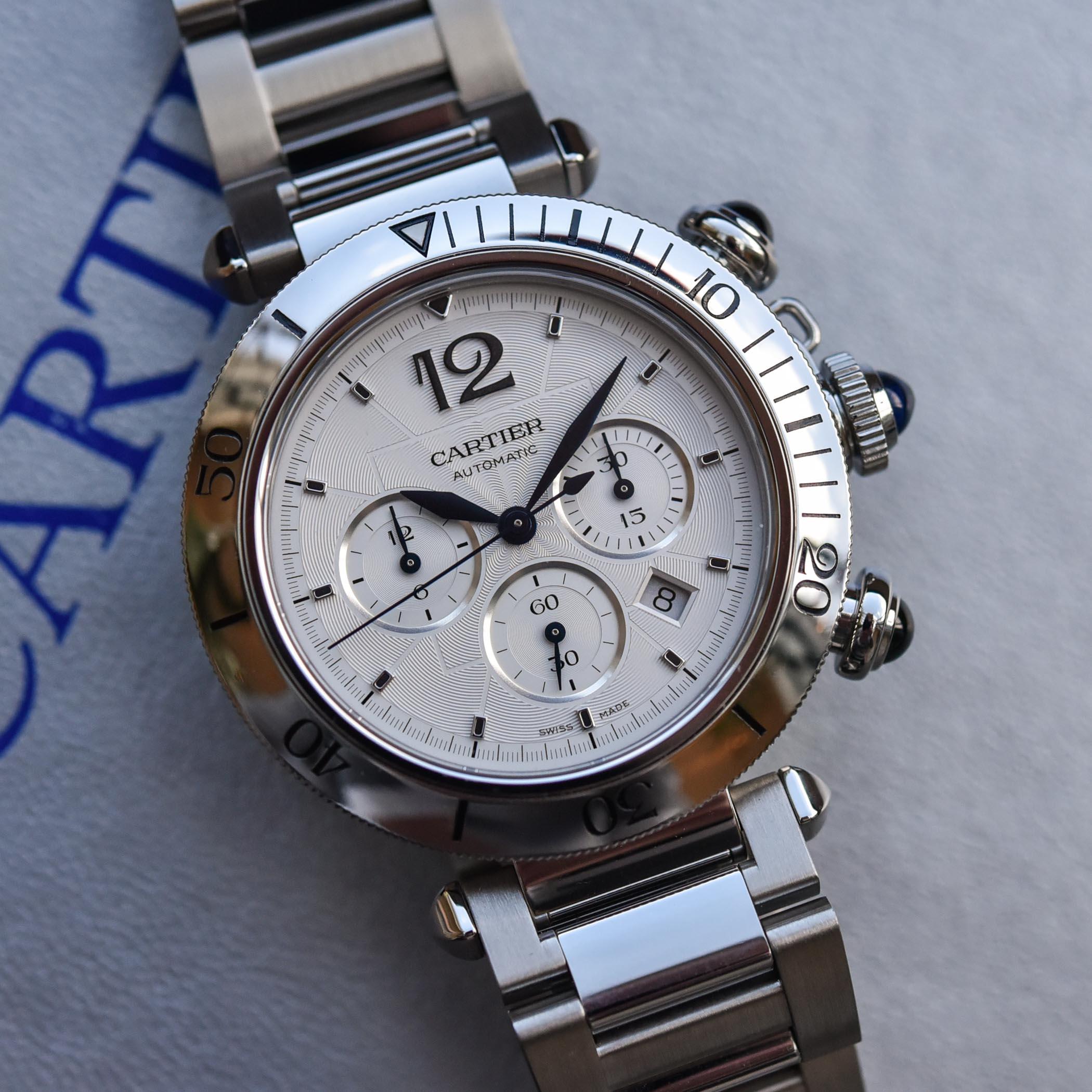 2021 Pasha de Cartier Chronograph 41mm hands-on - 9