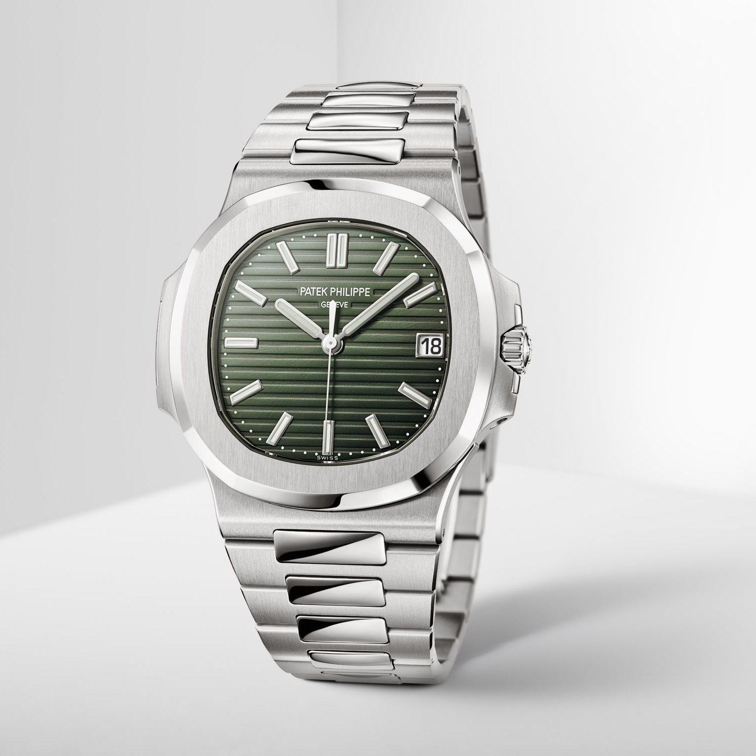 2021 Patek Philippe Nautilus 5711 Green Dial - 5711/1A-014
