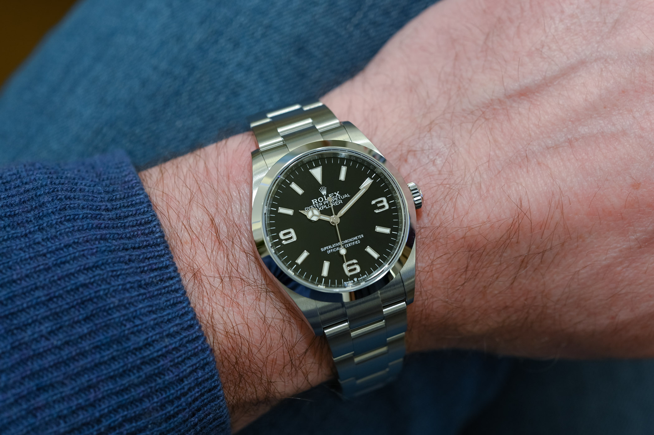 2021 Rolex Explorer 1 36mm 124270