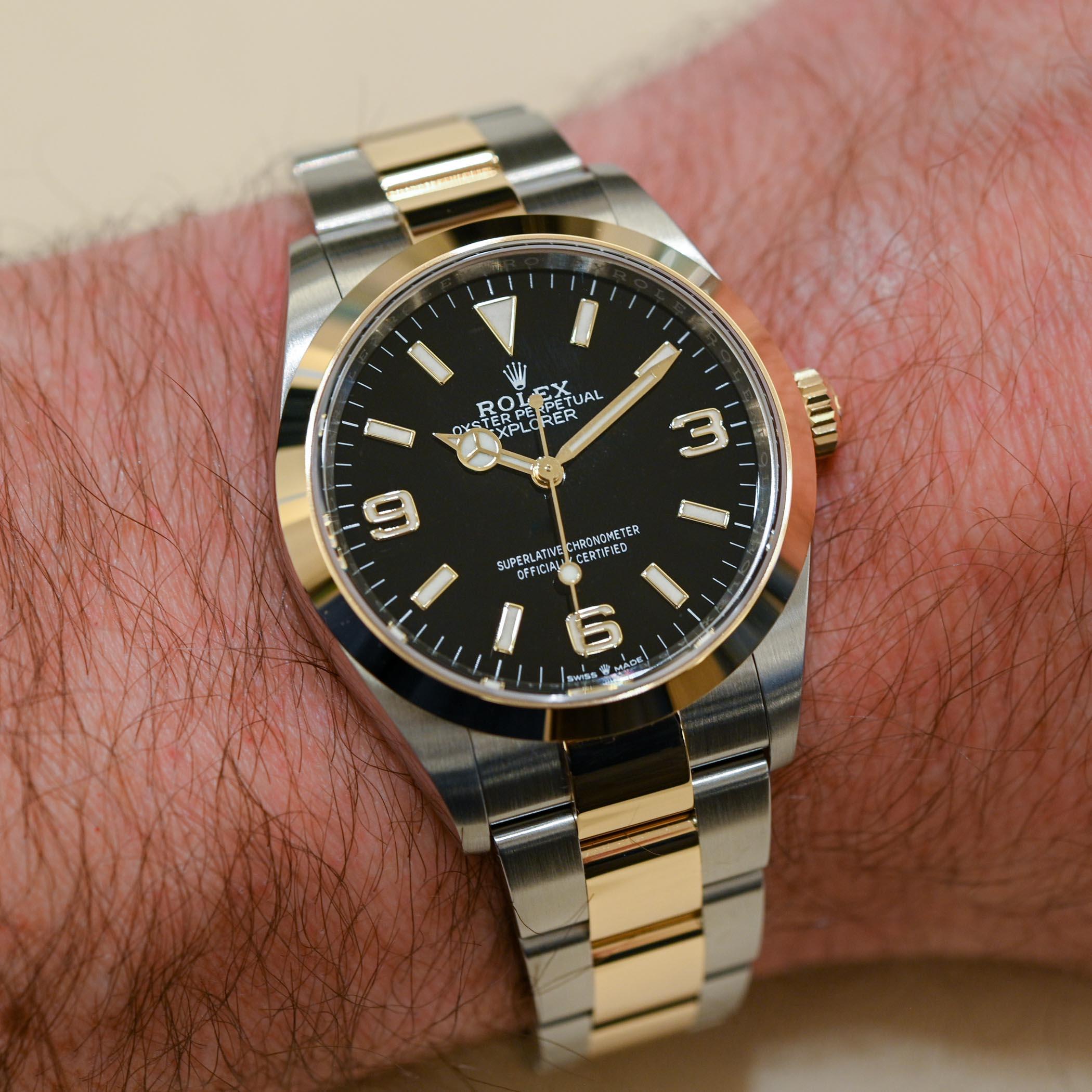 2021 Rolex Explorer 1 36mm 124273