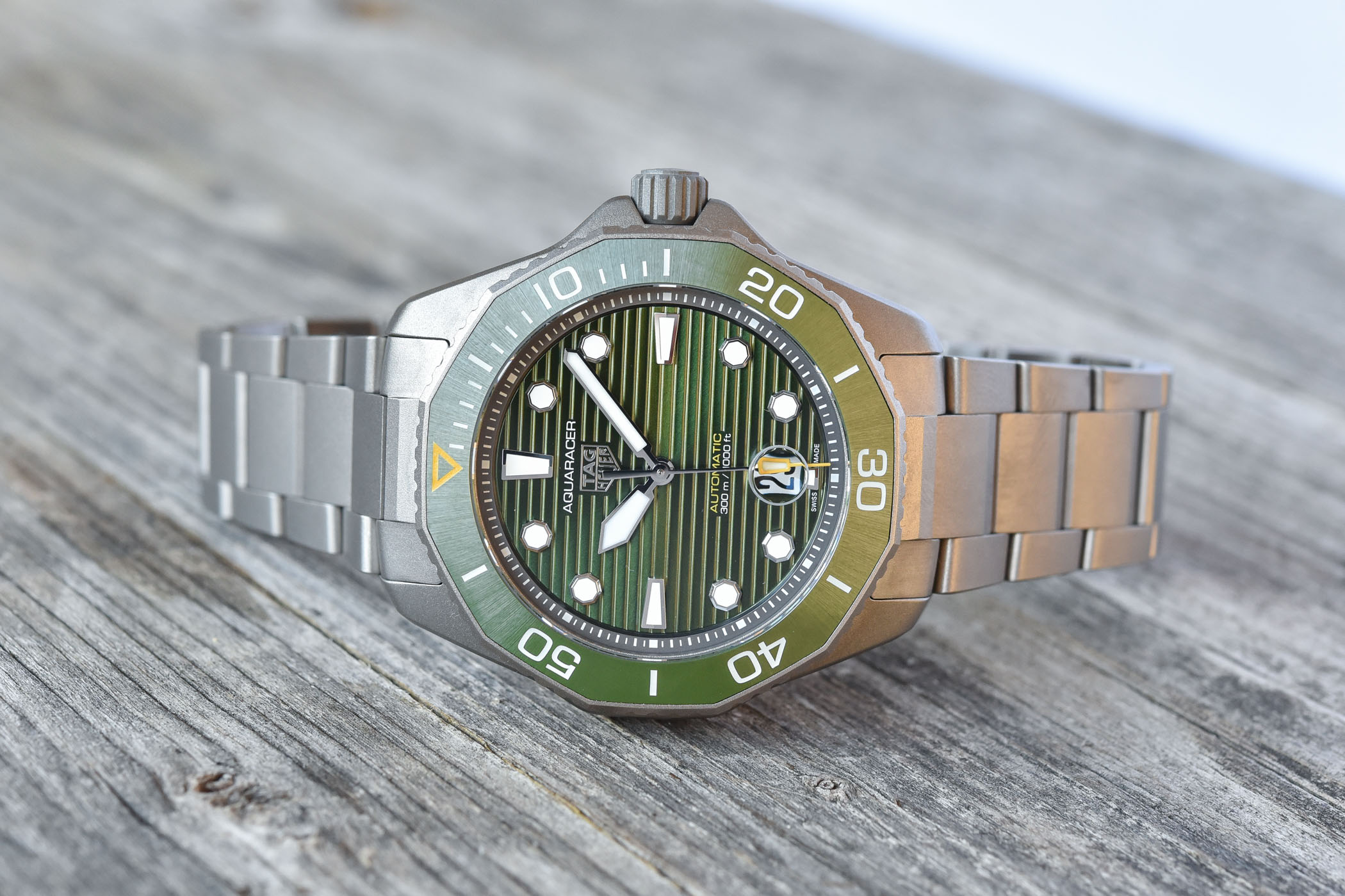 2021 TAG Heuer Aquaracer Professional 300 Calirbe 5 Automatic Collection