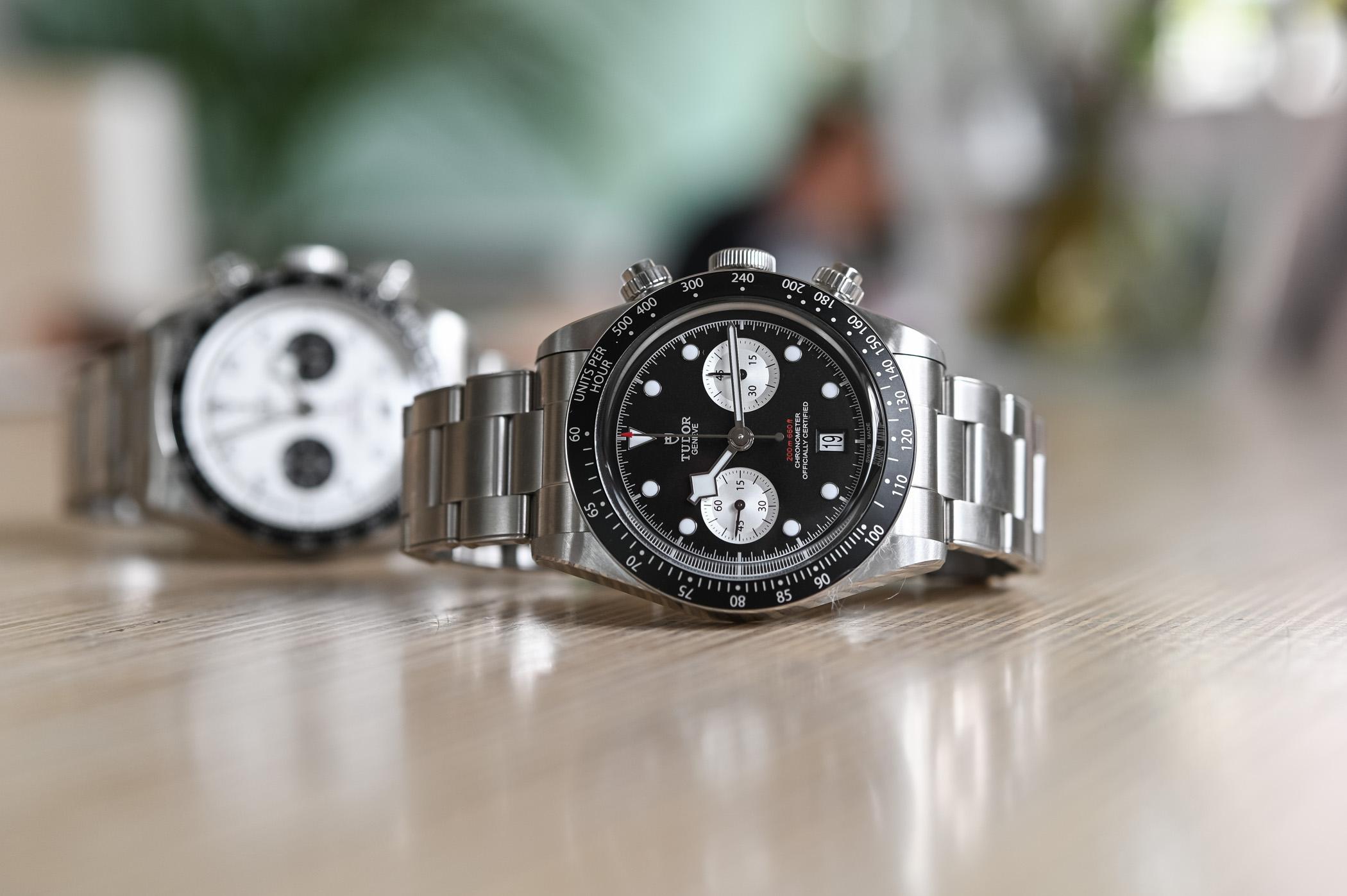2021 Tudor Black Bay Chrono Reversed Panda Black Bezel 79360N - review - 5
