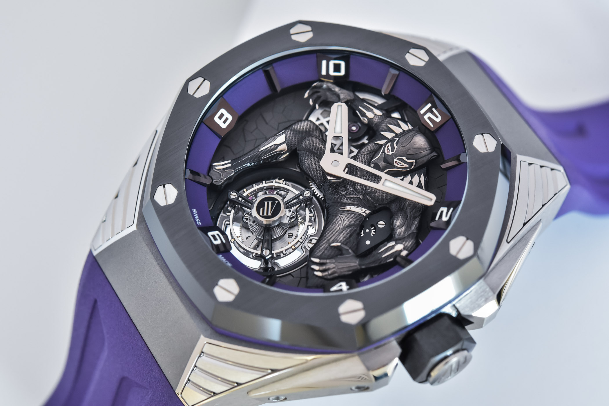 Audemars Piguet Royal Oak Concept Black Panther Flying Tourbillon 26620IO.OO.D077CA.01