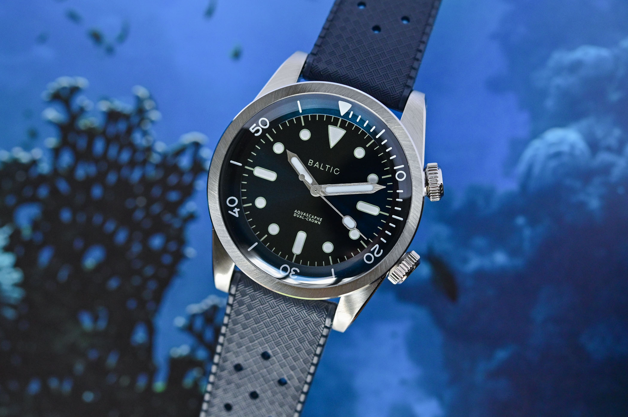 Baltic Aquascaphe Dual-Crown - Hands-On Review, Price