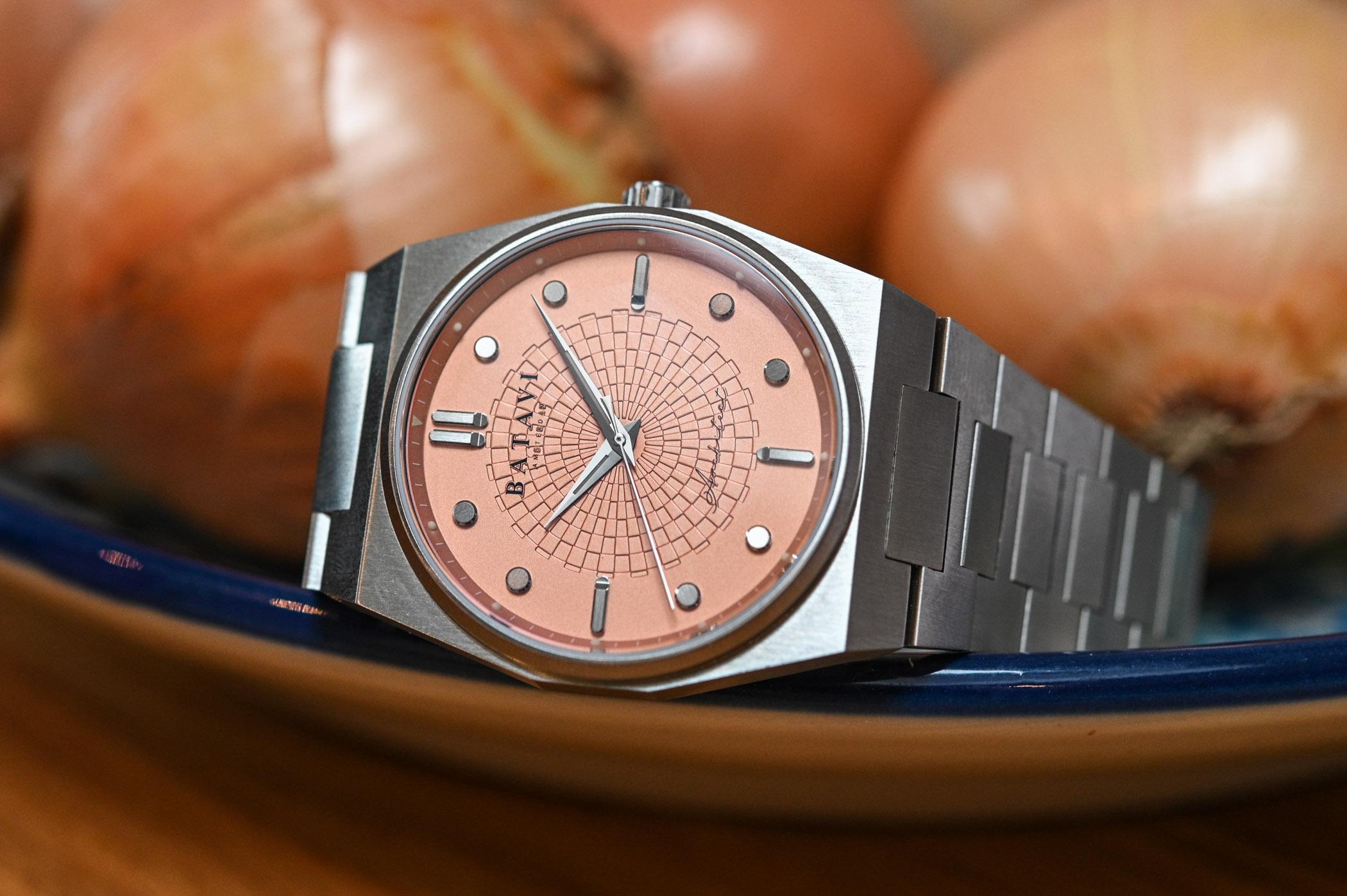 Batavi Architect Sports Watch Integrated Bracelet - Launching on Kickstarter