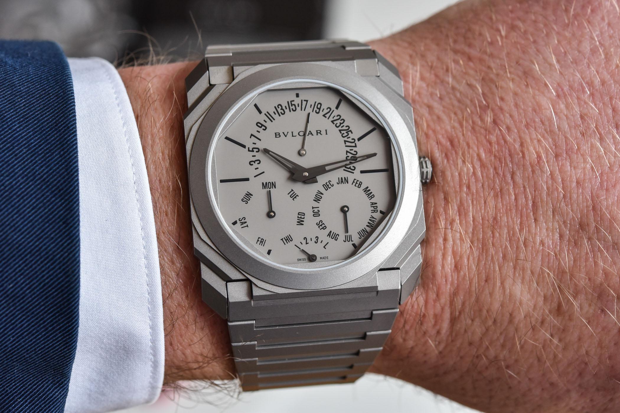 Bulgari Octo Finissimo Perpetual Calendar - world record thinnest perpetual calendar