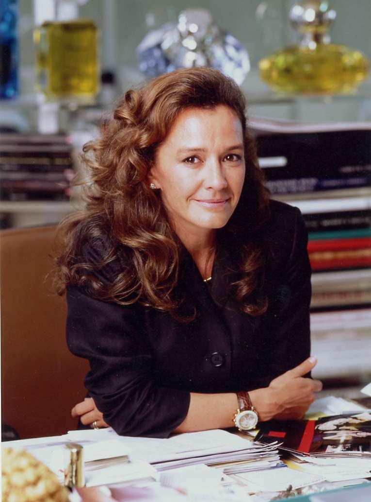 Caroline Scheufele wearing Happy Sport in the 1990's