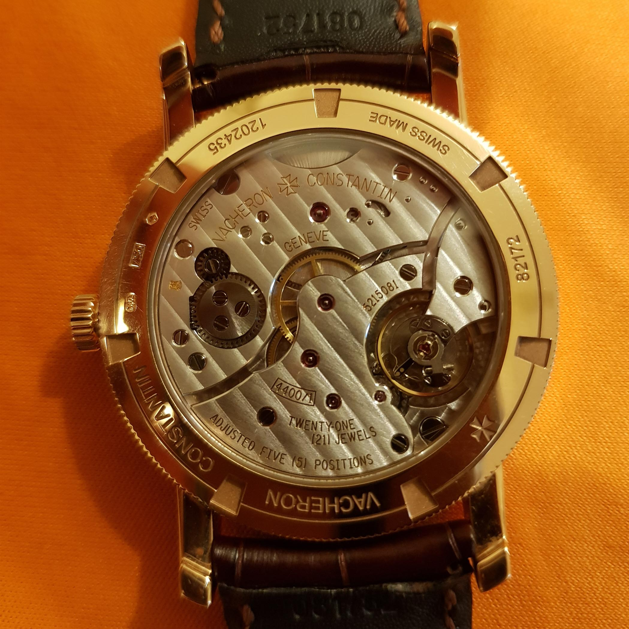 Collectors Series - khemkakunal and his Vacheron Constantin Traditionnelle Manual-Winding