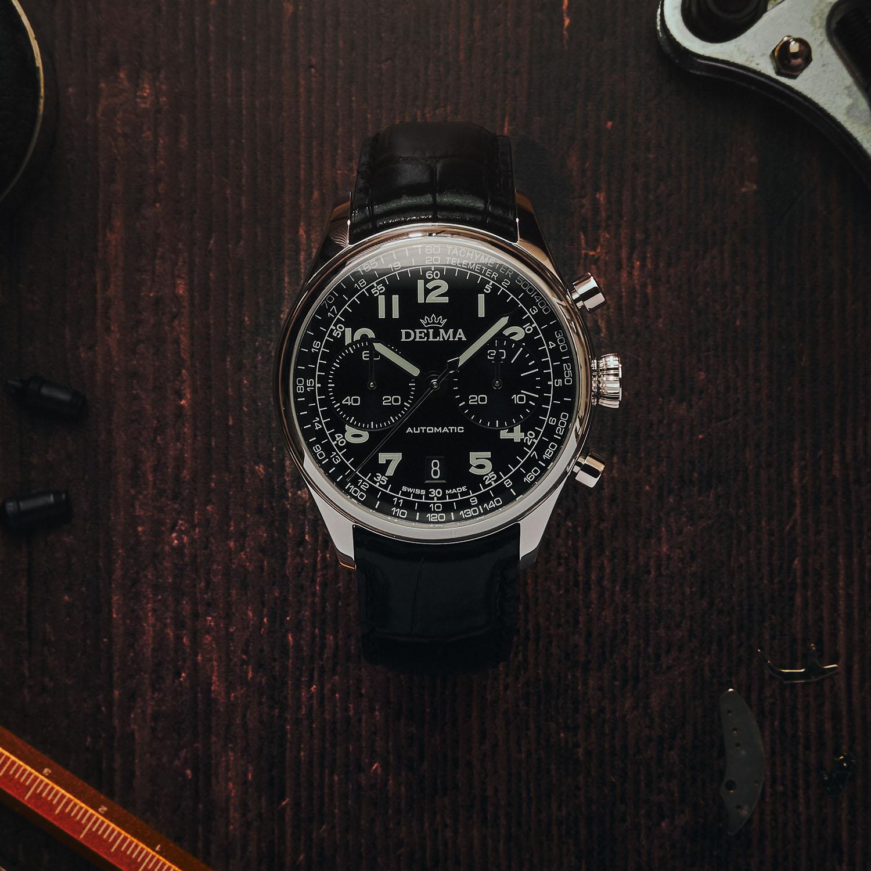 Delma Heritage Chronograph LE - 5