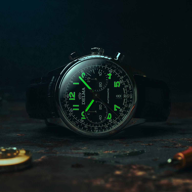 Delma Heritage Chronograph LE - 6
