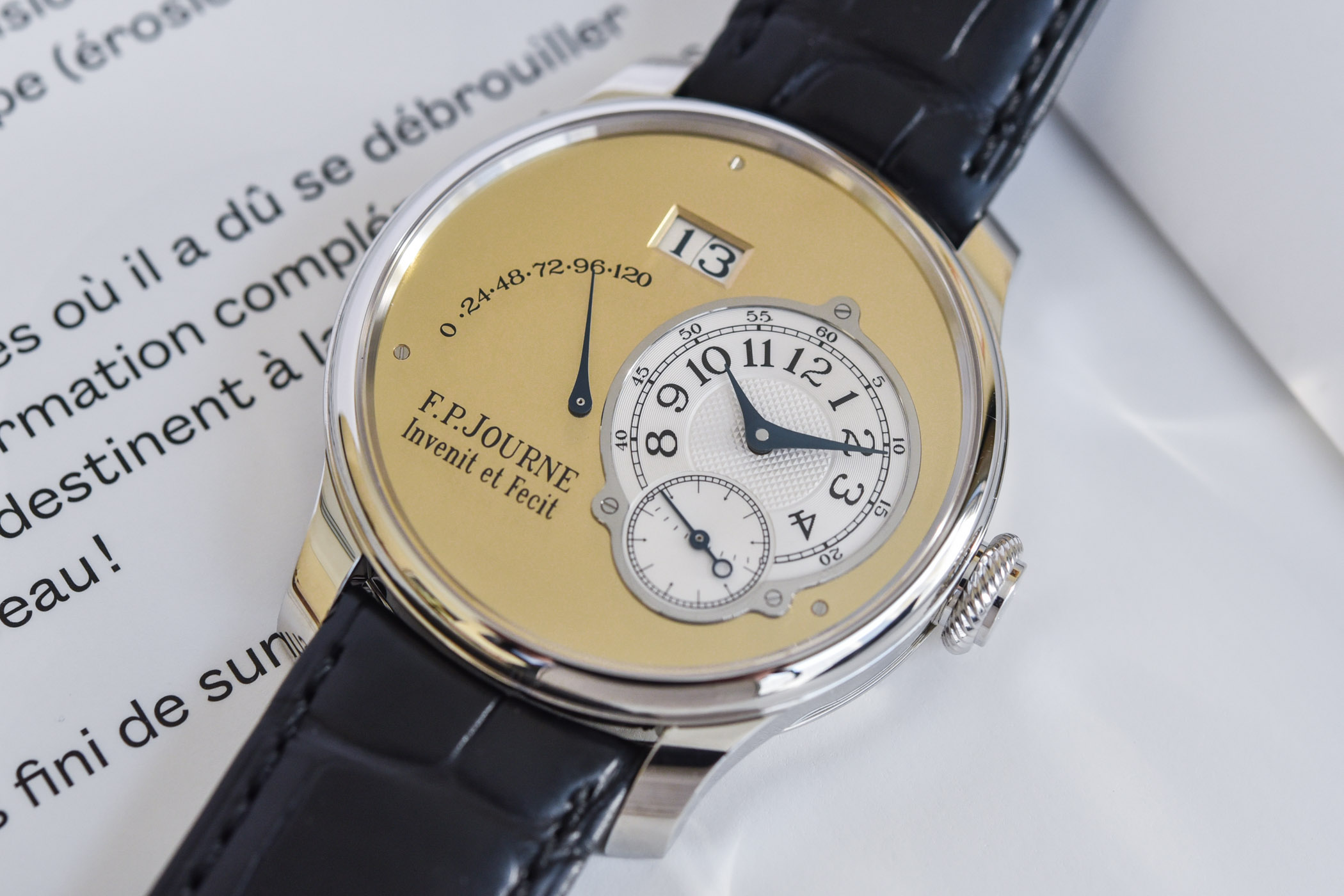 FP Journe Automatique Limited Edition 20th anniversary Octa - review - 10