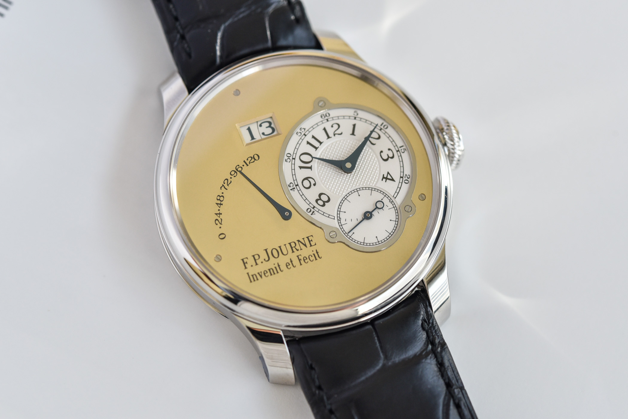 FP Journe Automatique Limited Edition 20th anniversary Octa - review - 12