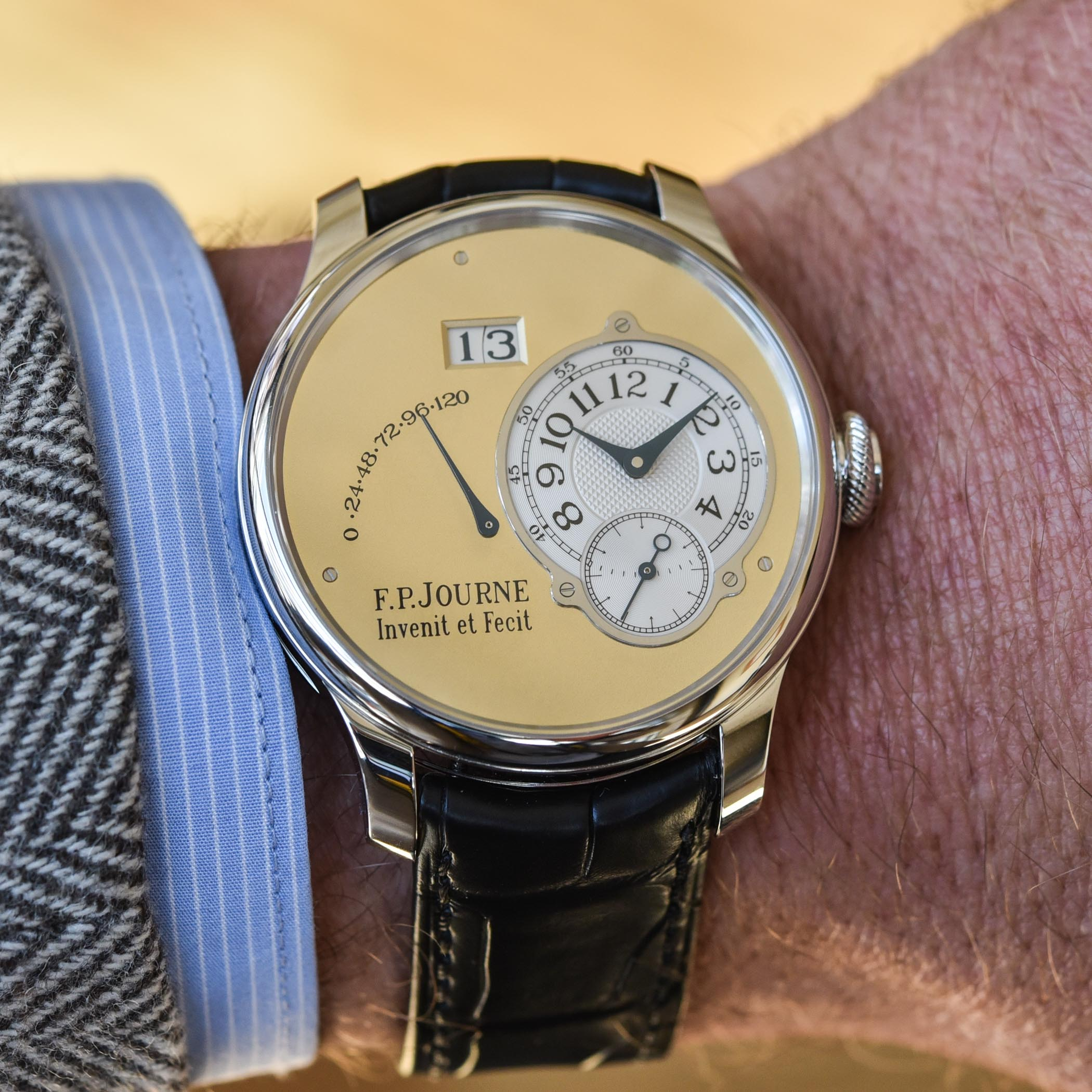 FP Journe Automatique Limited Edition 20th anniversary Octa - review - 20
