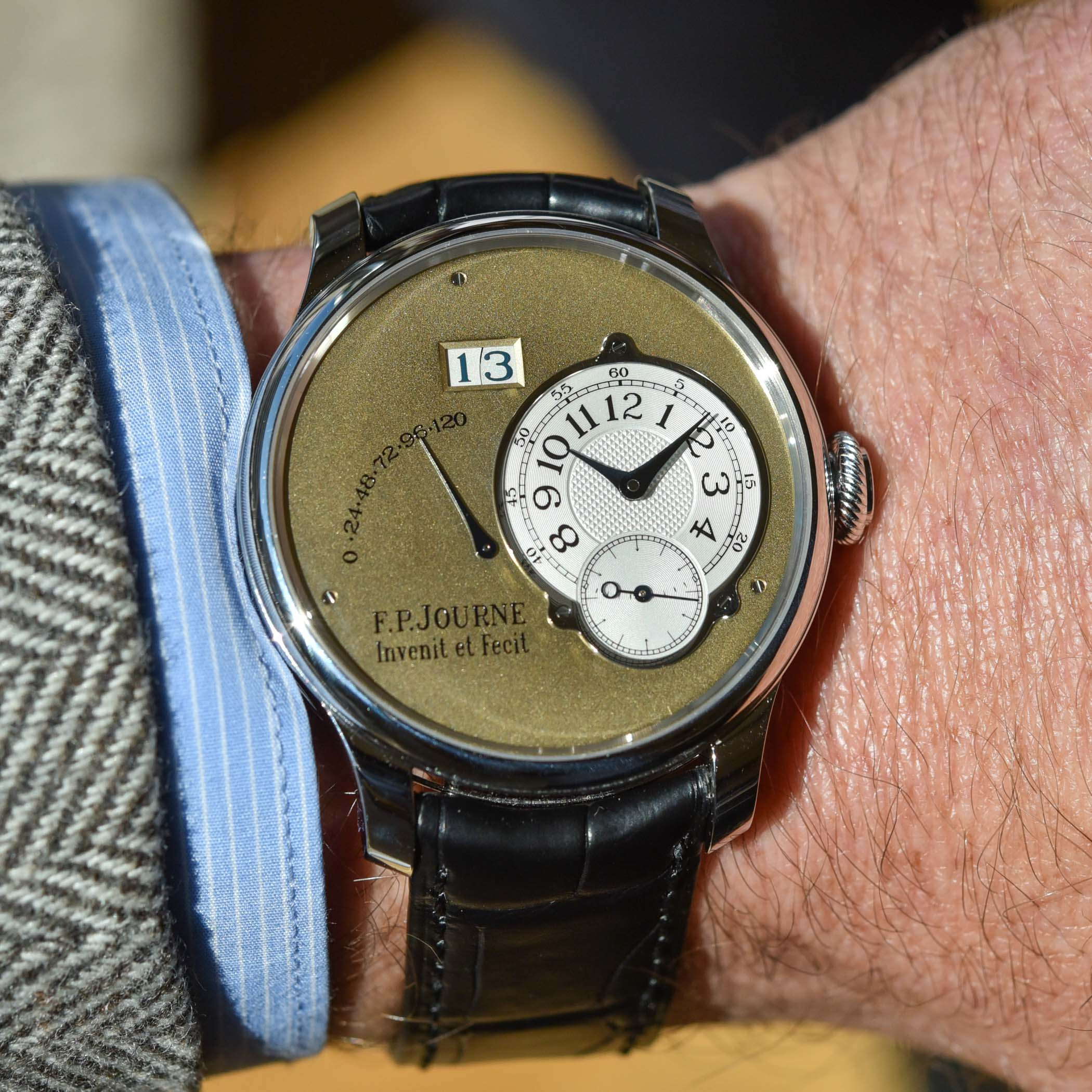 FP Journe Automatique Limited Edition 20th anniversary Octa - review - 3