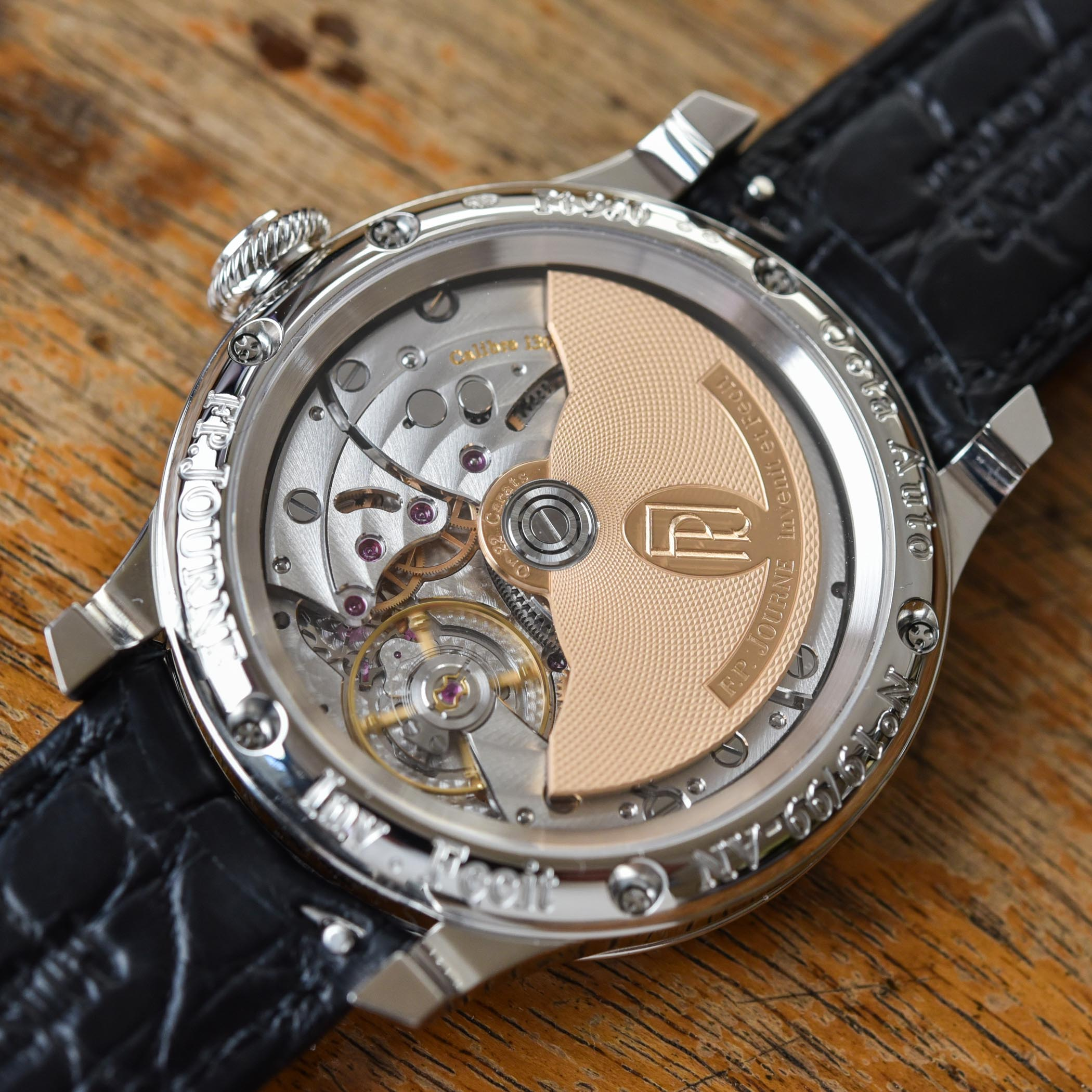 FP Journe Automatique Limited Edition 20th anniversary Octa - review - 4