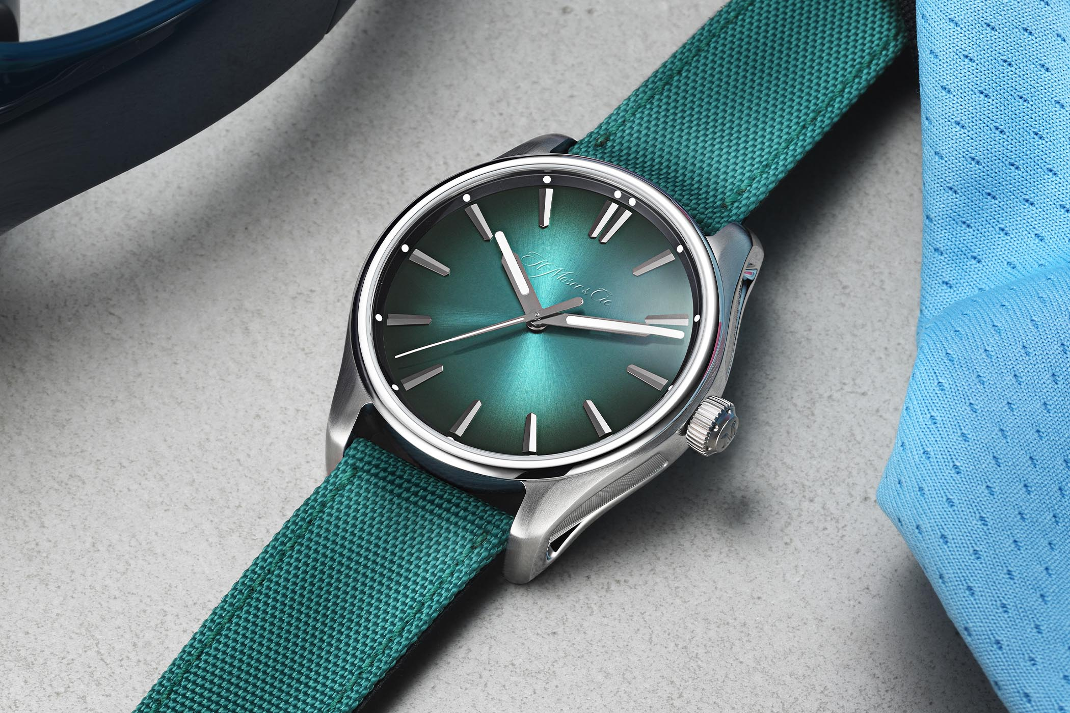 H. Moser & Cie. Pioneer Centre Seconds Mega Cool