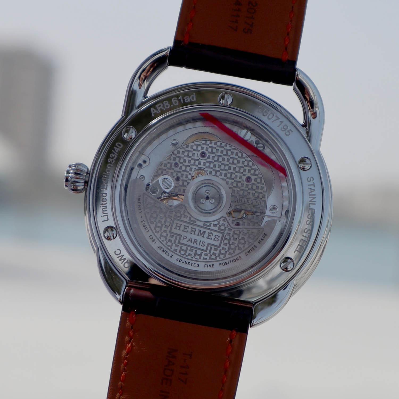 Hermès Arceau Brown Dial for Qatar Watch Club