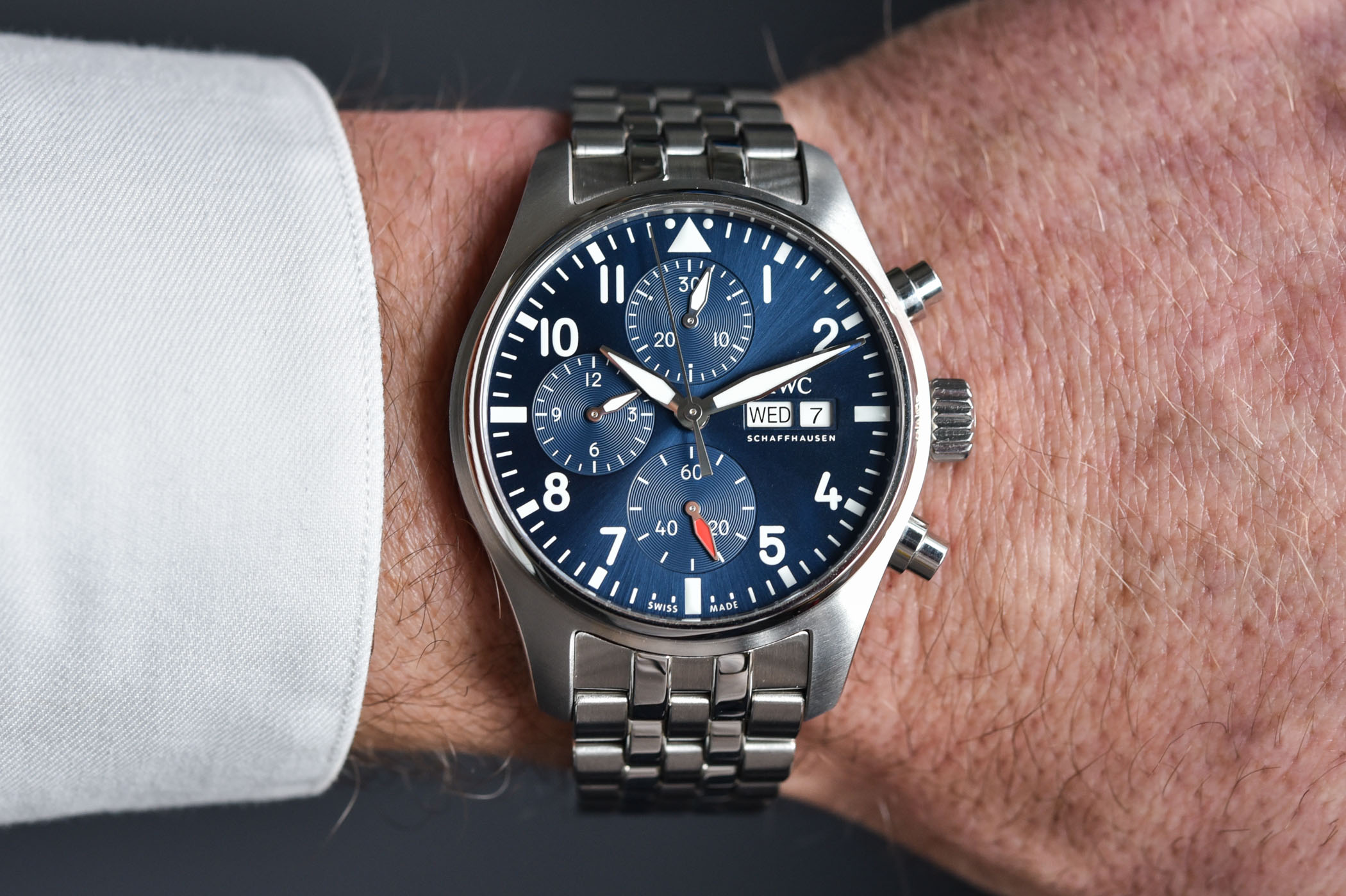 IWC Pilot's Watch Chronograph 41 - IW3881 - review video - 8
