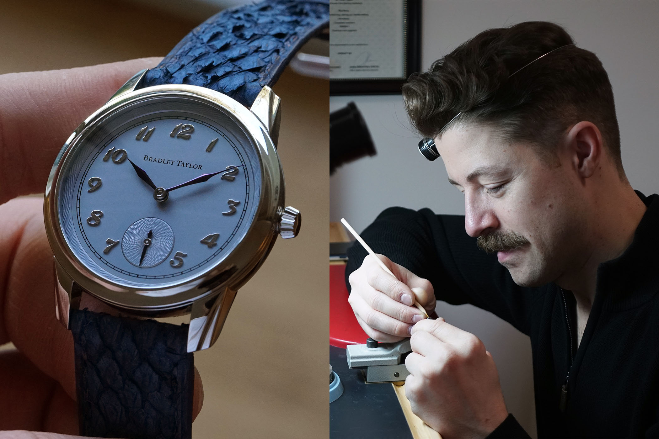 Interview Young Canadian Watchmaker Bradley Taylor