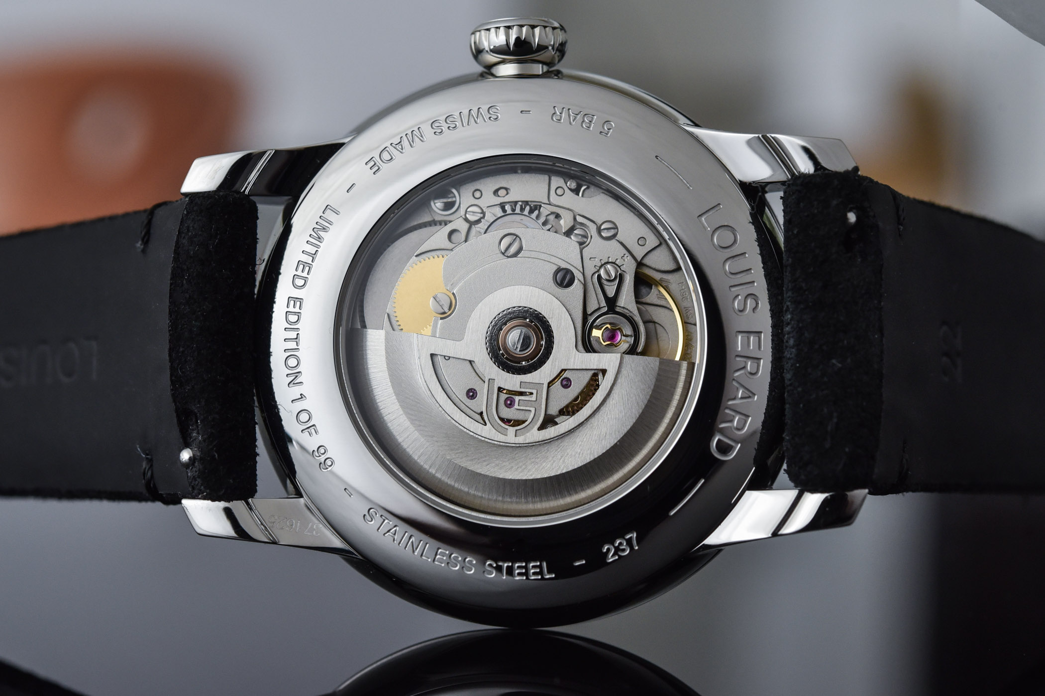 Louis Erard Excellence Guilloché Main limited edition