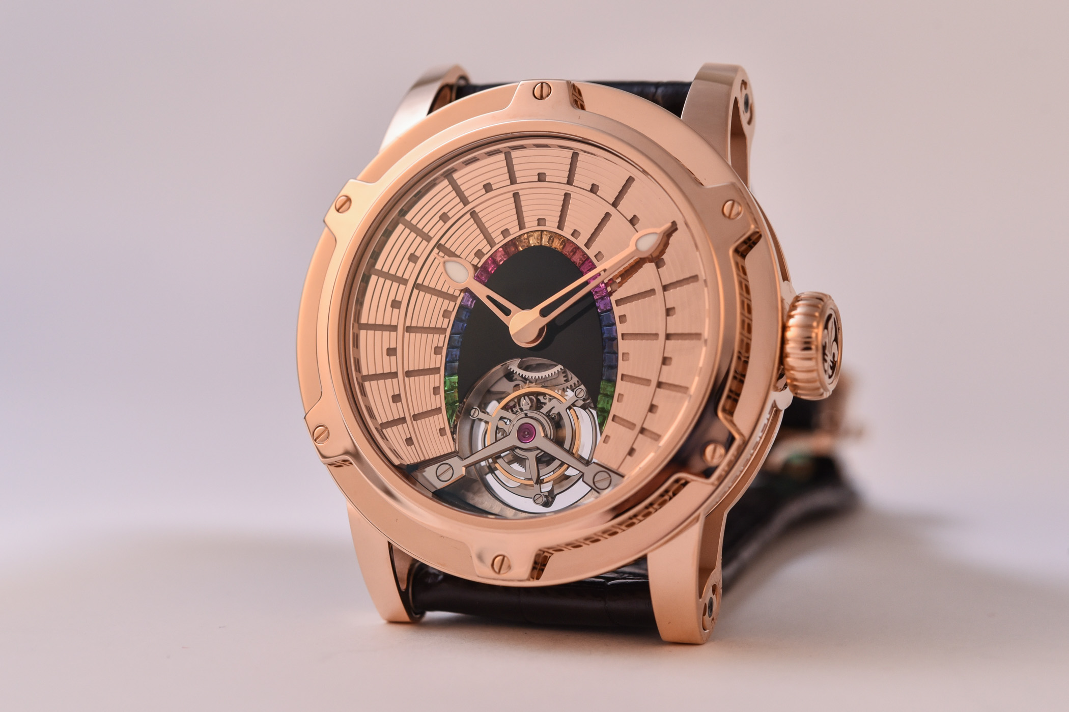 Louis Moinet Eight Marvels of the World Set of Tourbillon Watches