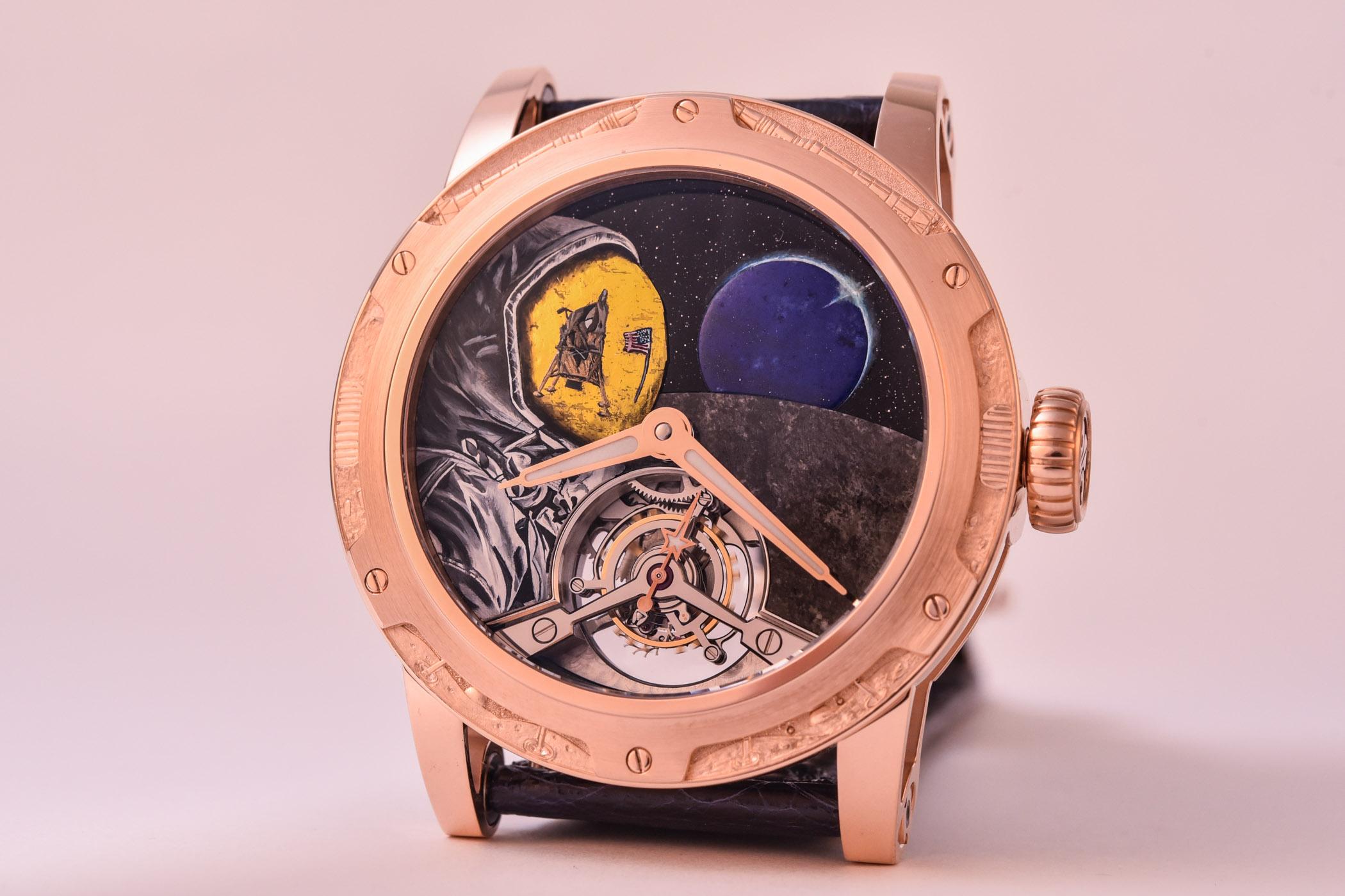 Louis Moinet Moon Race Set of Tourbillon Watches