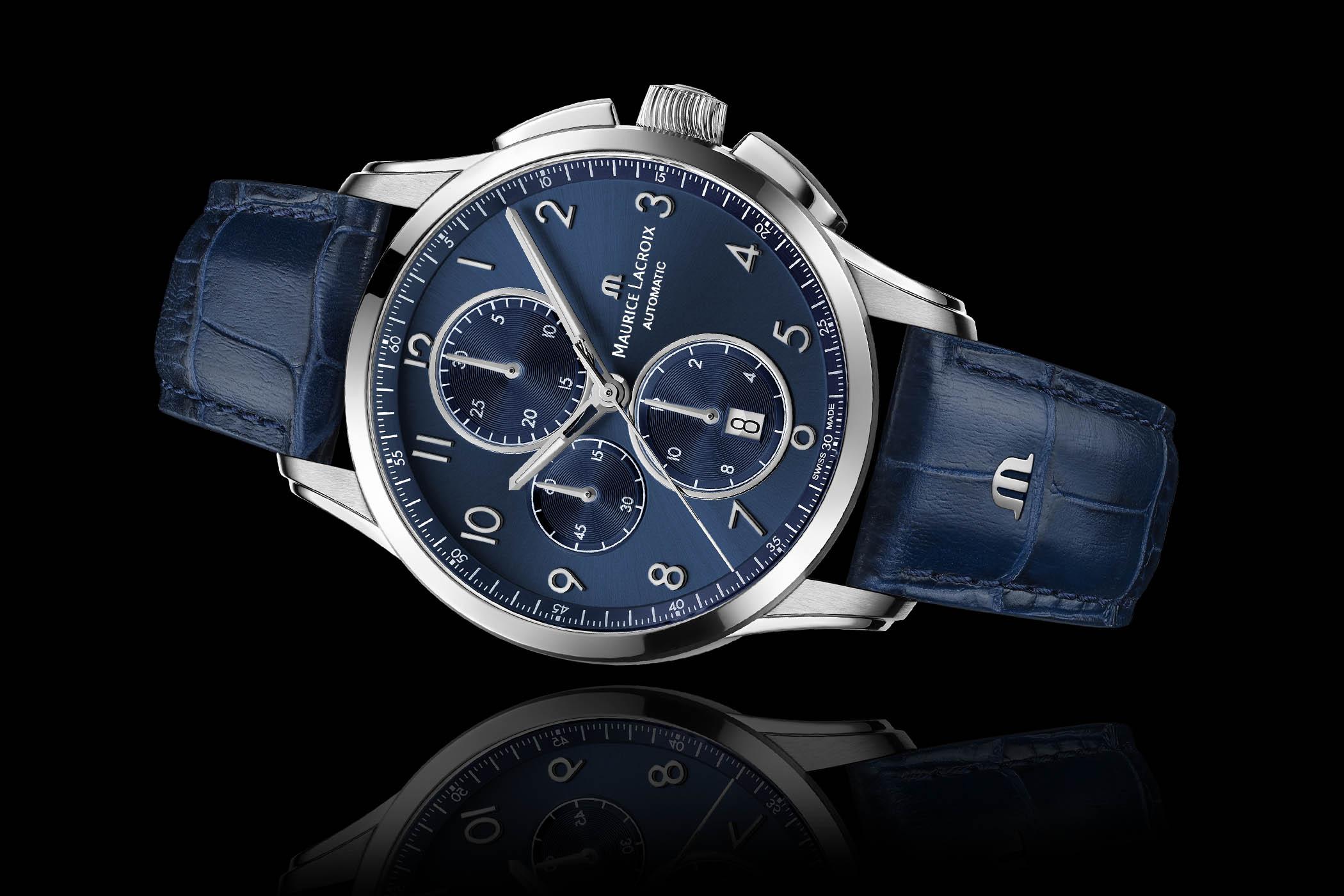 Maurice Lacroix Pontos Chronograph Blue Sun