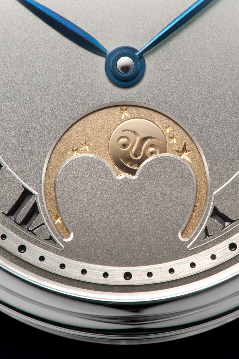 Naoya Hida Type 3A Moon Phase - independent watchmaking japan - 4