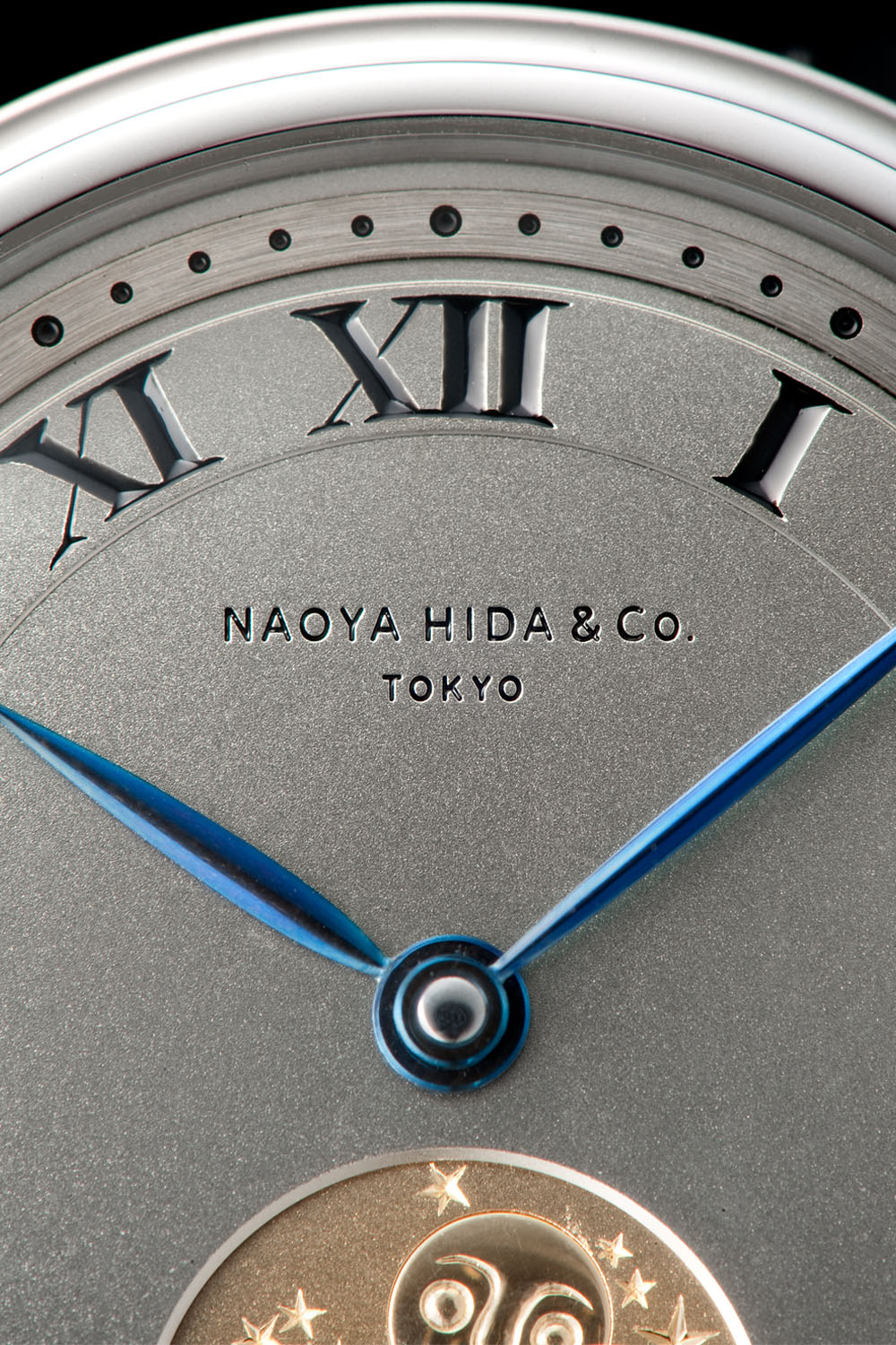 Naoya Hida Type 3A Moon Phase - independent watchmaking japan - 5