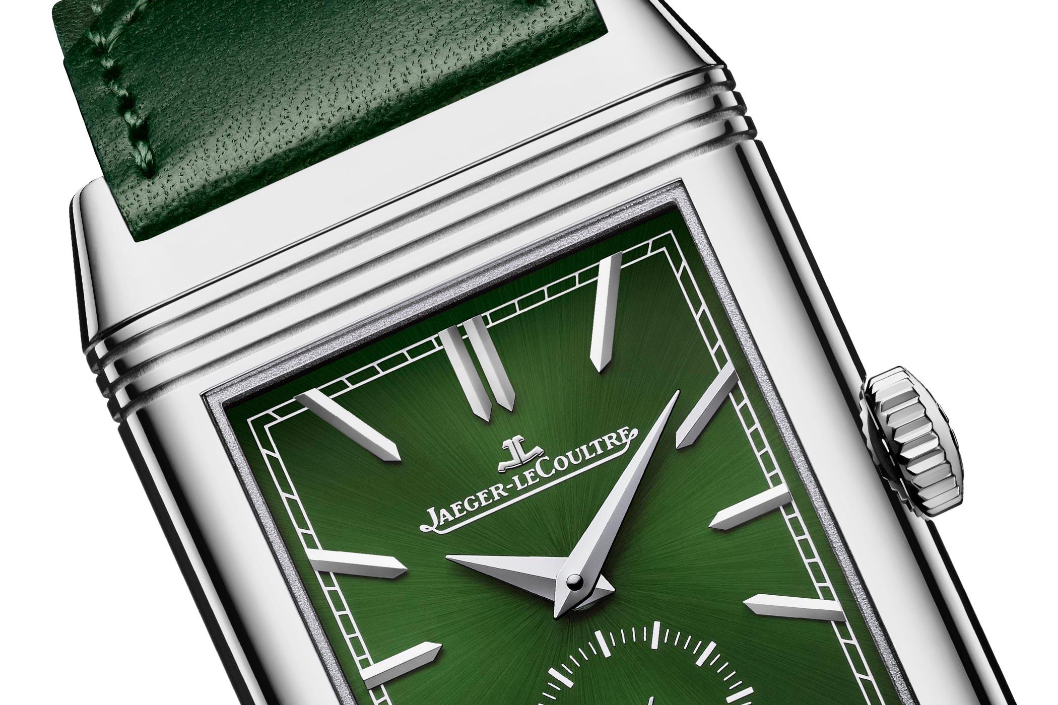 Jaeger-LeCoultre Reverso Tribute Green