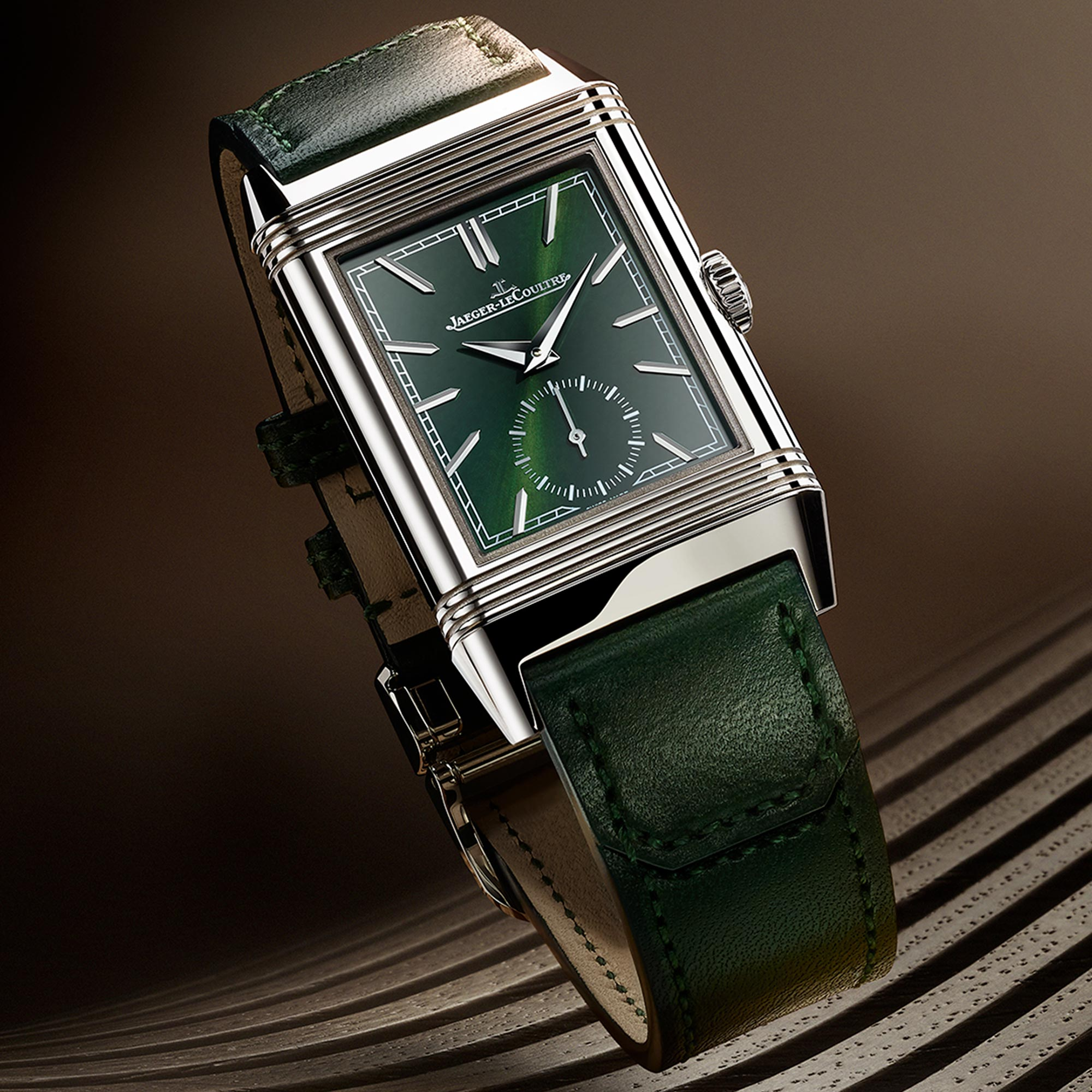 Reverso Tribute Green