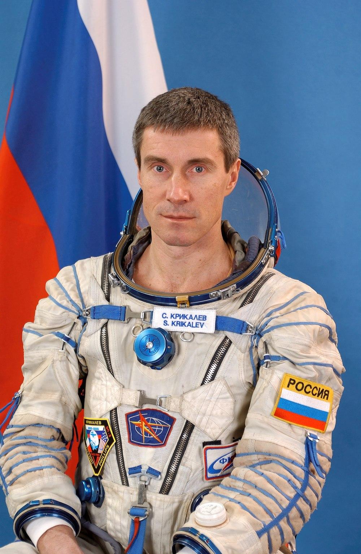 Raketa Baikonur watch - Sergei Krikalev - 1