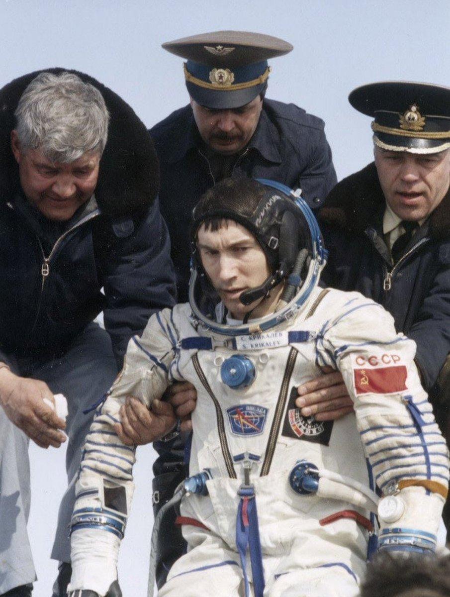 Raketa Baikonur watch - Sergei Krikalev - 2