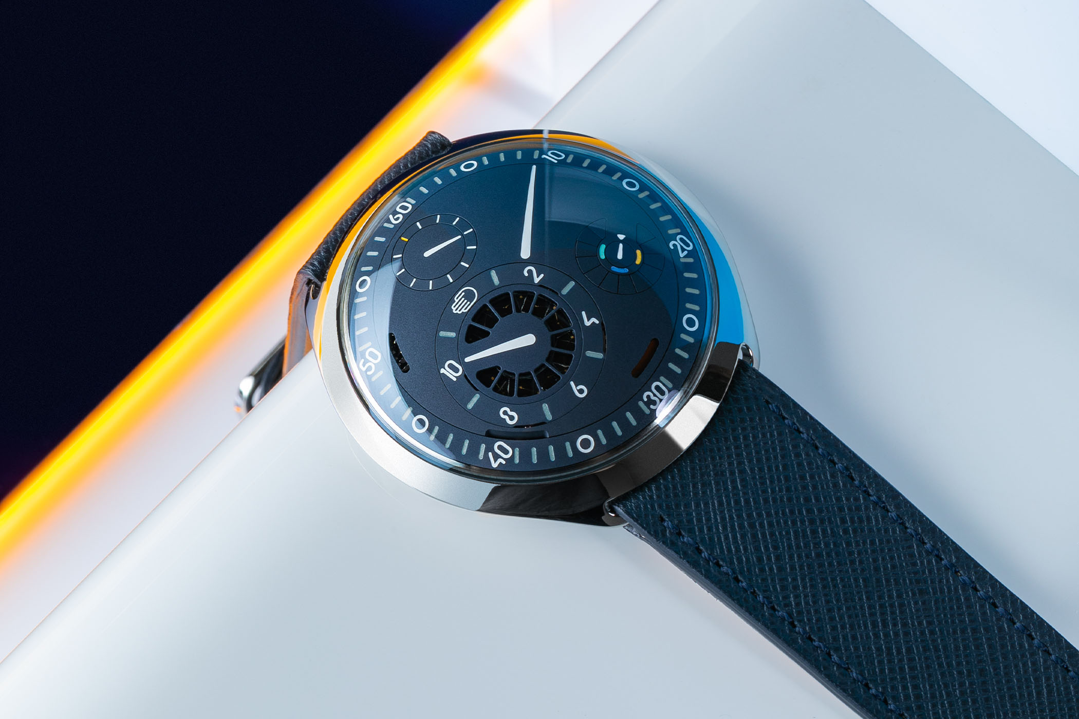 Ressence Type 2N e-Crown Night Blue