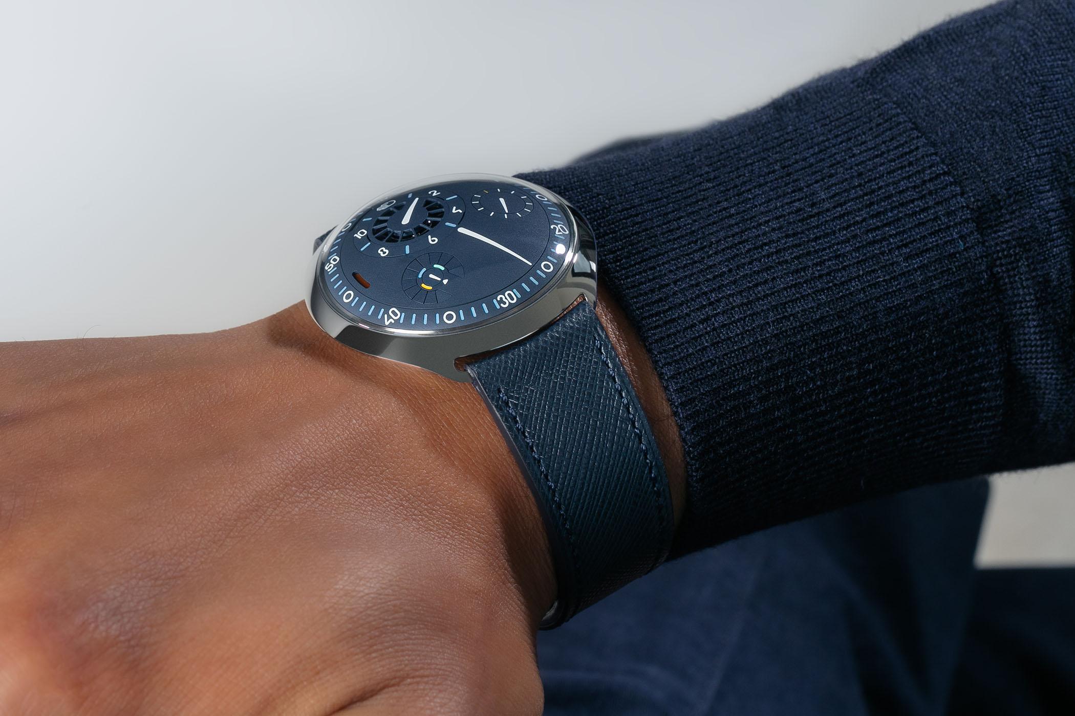 Ressence Type 2N e-Crown Night Blue